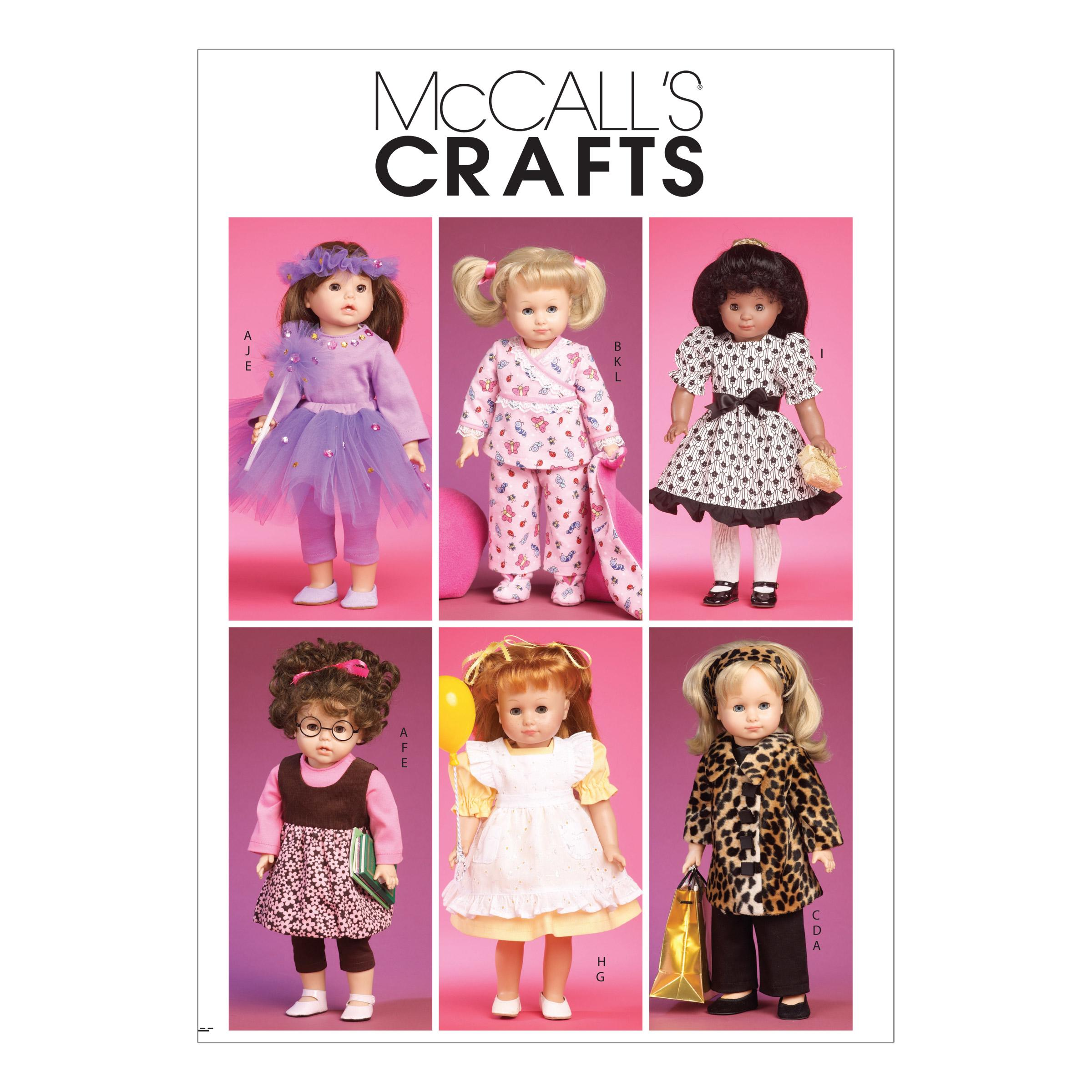 McCalls M6005 Crafts/Dolls/Pets