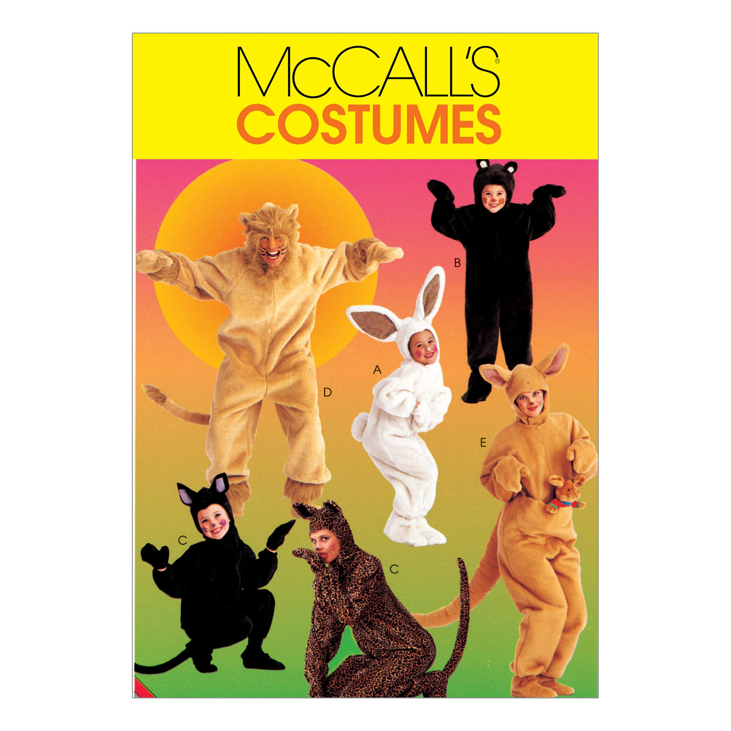 McCalls M6106 Costumes, Halloween