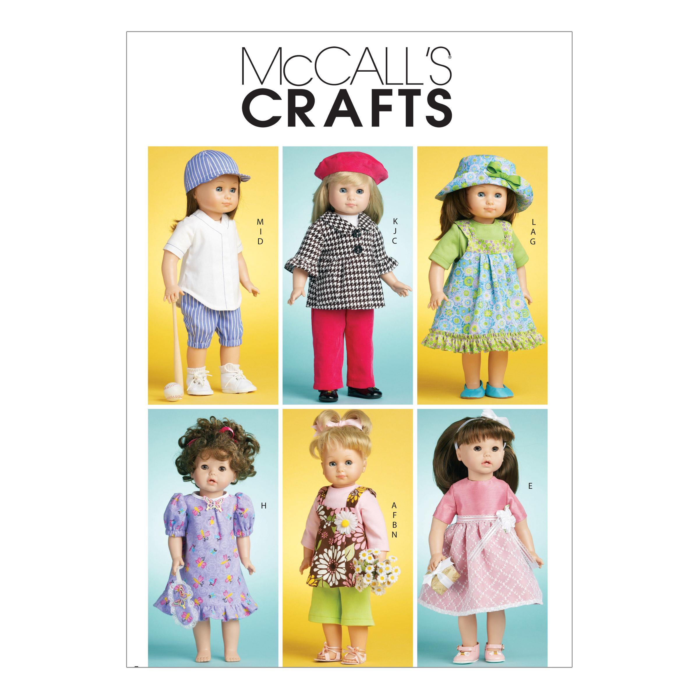 McCalls M6137 Crafts/Dolls/Pets