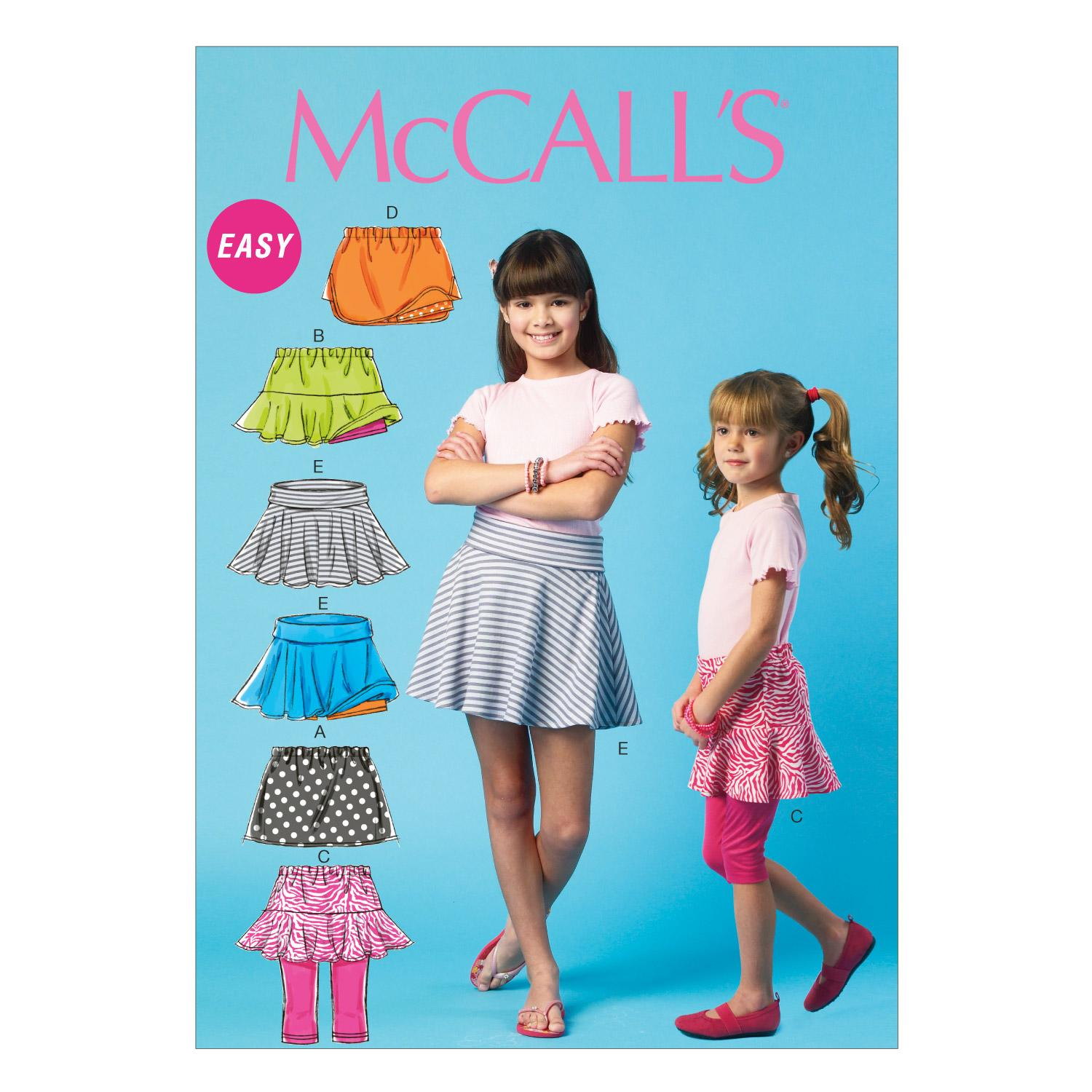McCalls M6918 Children, Girls/Boys
