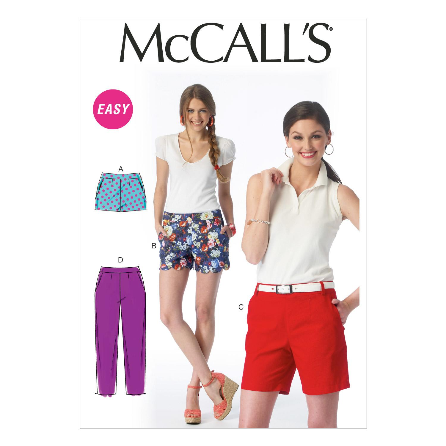 McCalls M6930 Misses, Misses/Women/Girls, Pants/Jumpsuits, Pants/Shorts & Jumpsuits