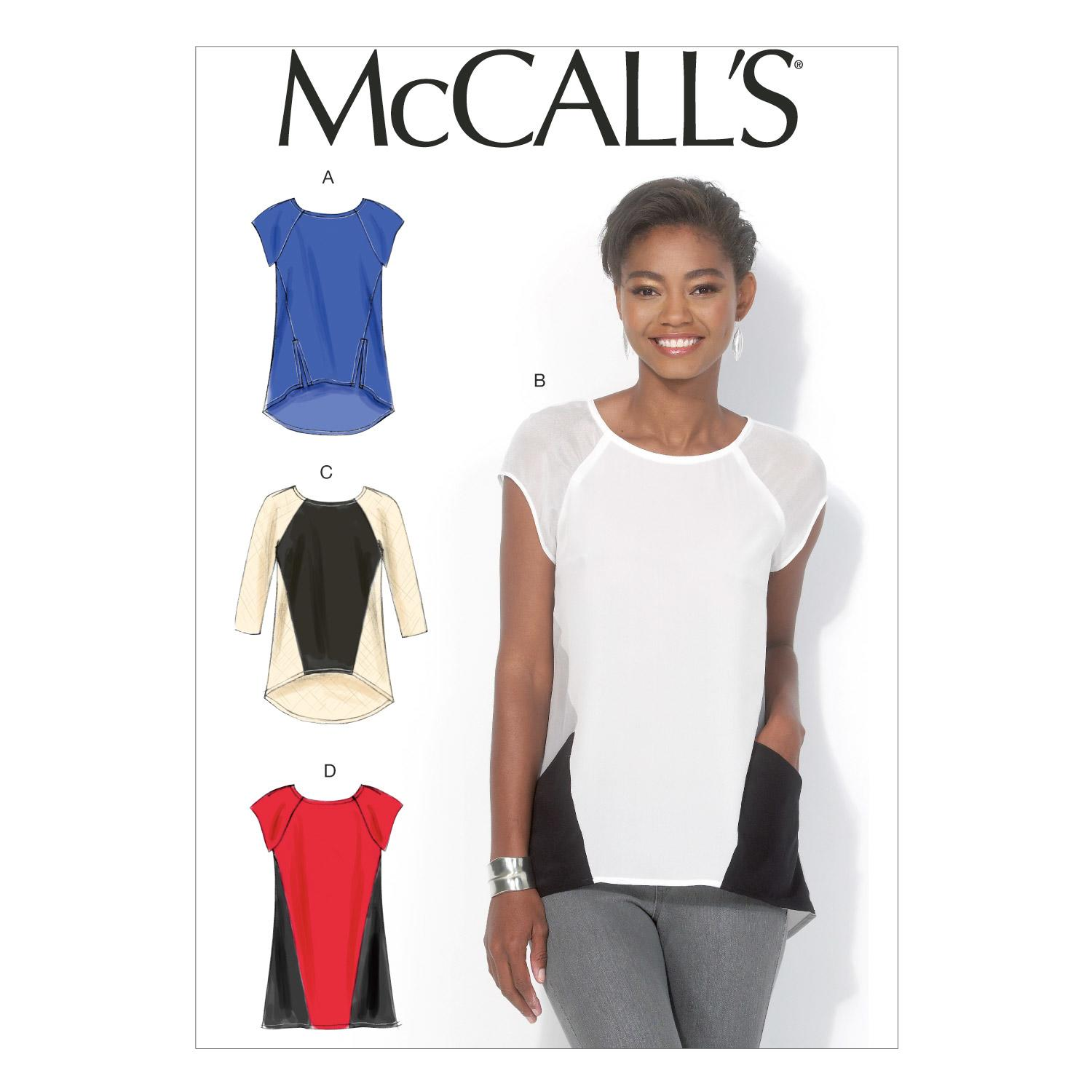 McCalls M7093 Tops/Tunics