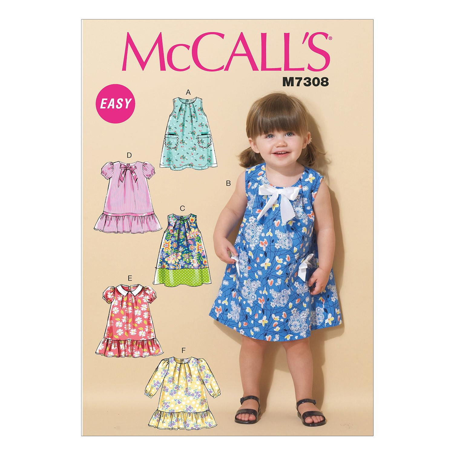McCalls M7308 Infants/Toddlers