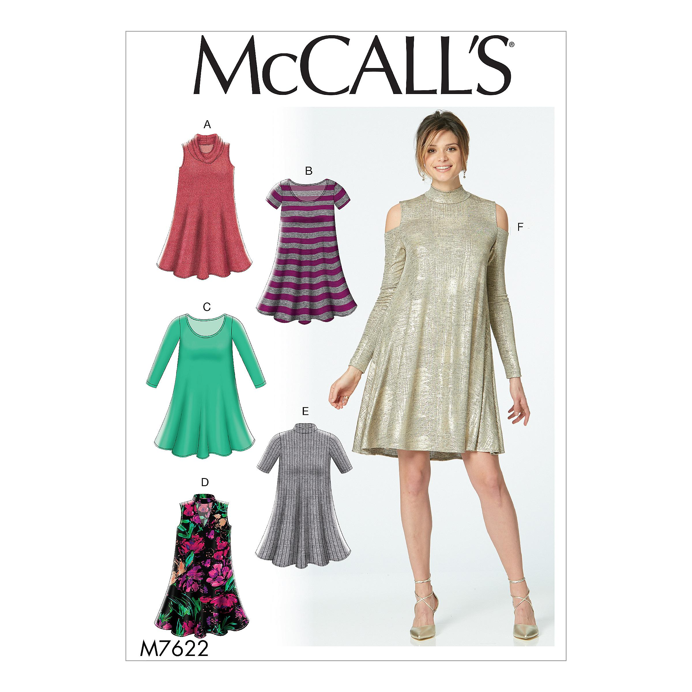 McCalls M7622 Misses Dresses, Misses Prom, Evening & Bridal