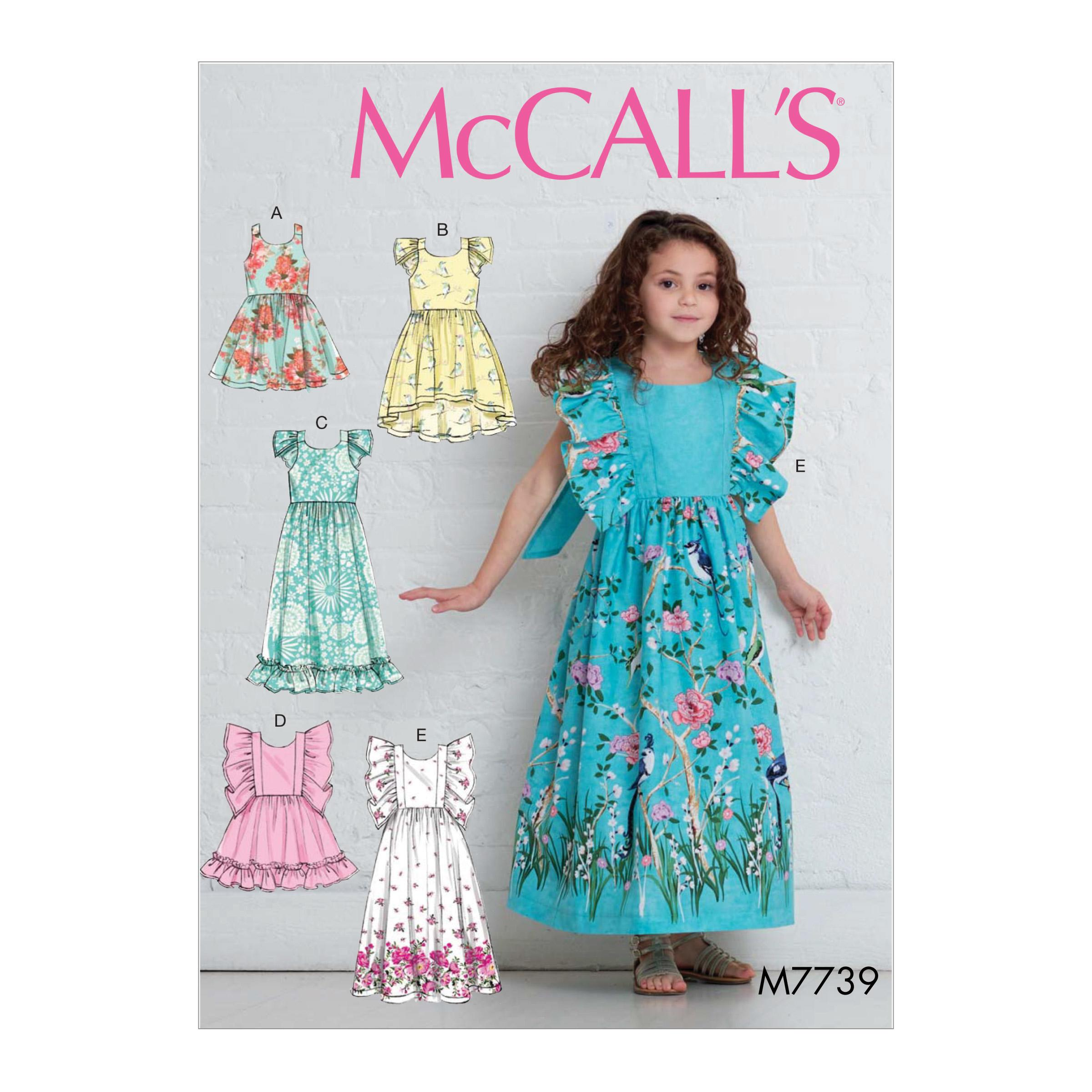 McCalls M7739 Kids Children, Kids Girls & Boys