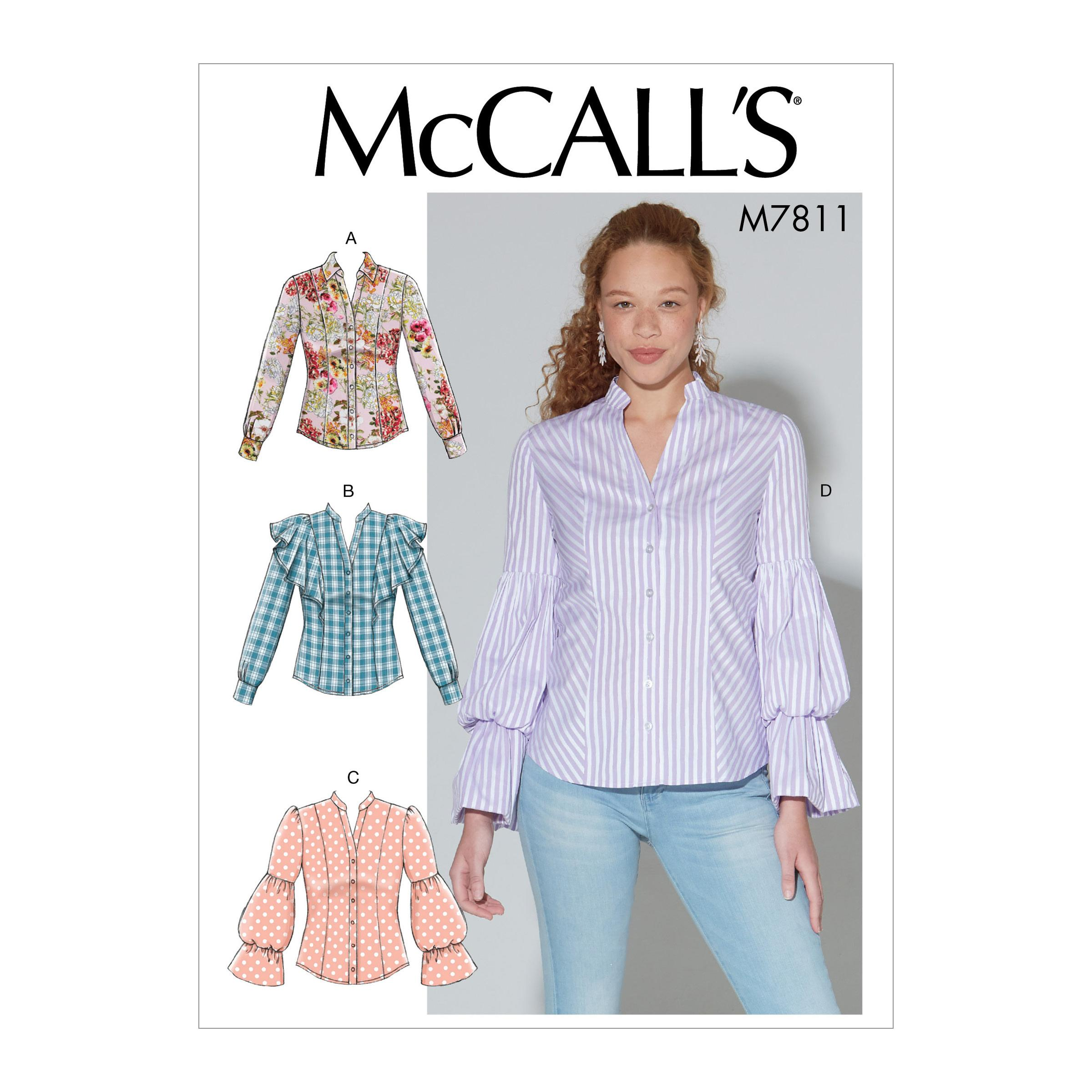 McCalls M7811 Misses Tops