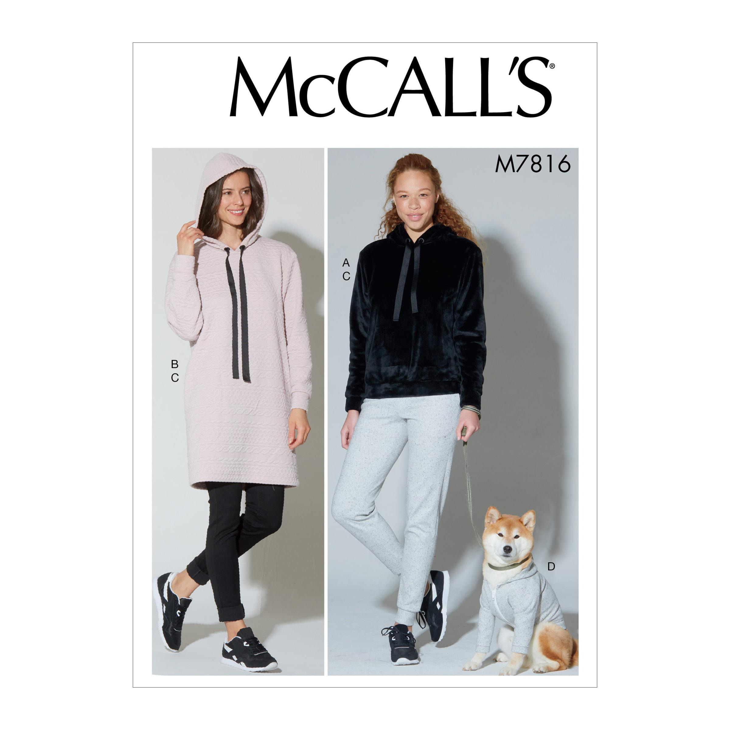 McCalls M7816 Misses Pants, Jumpsuits & Shorts