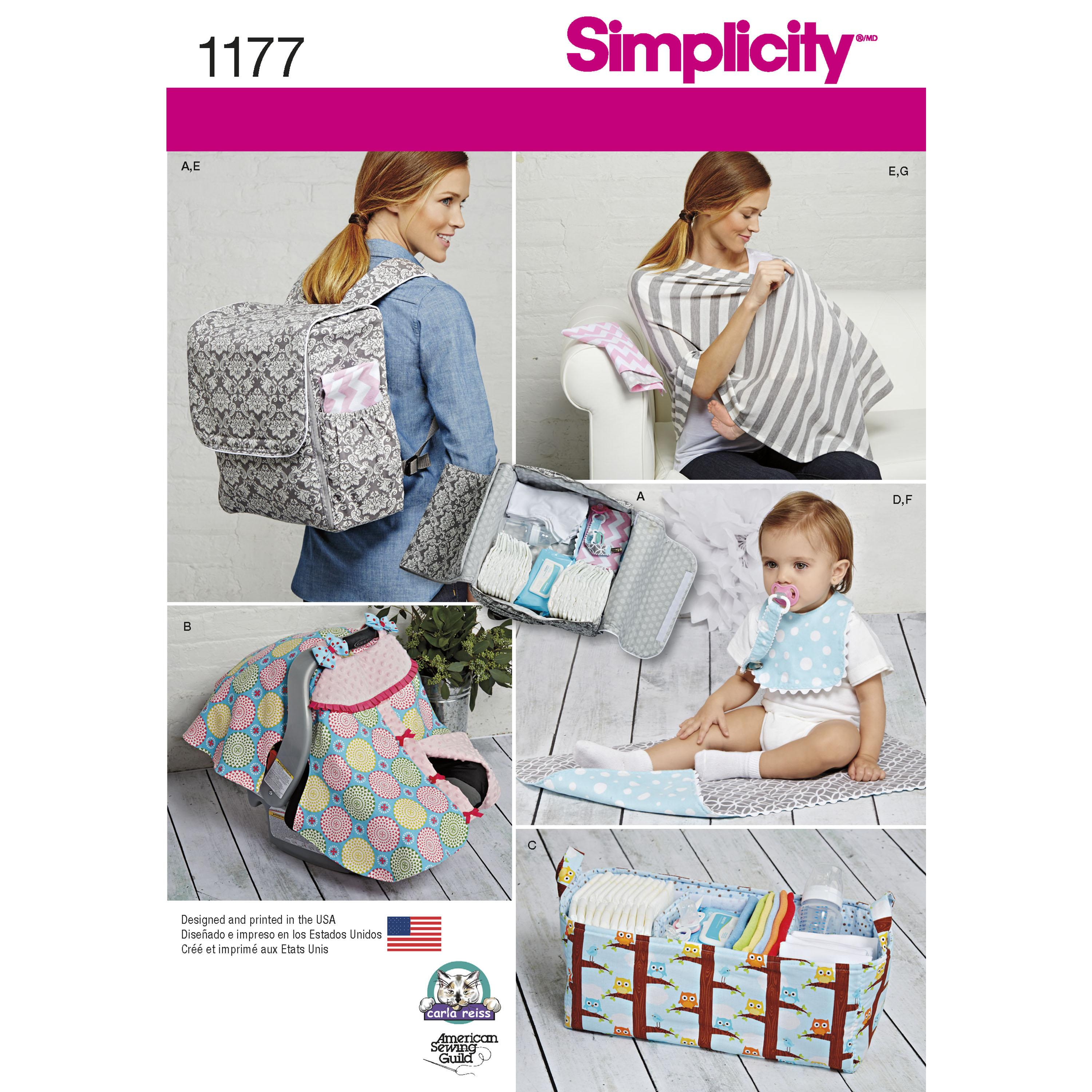 Simplicity S1177 Accessories for Babies