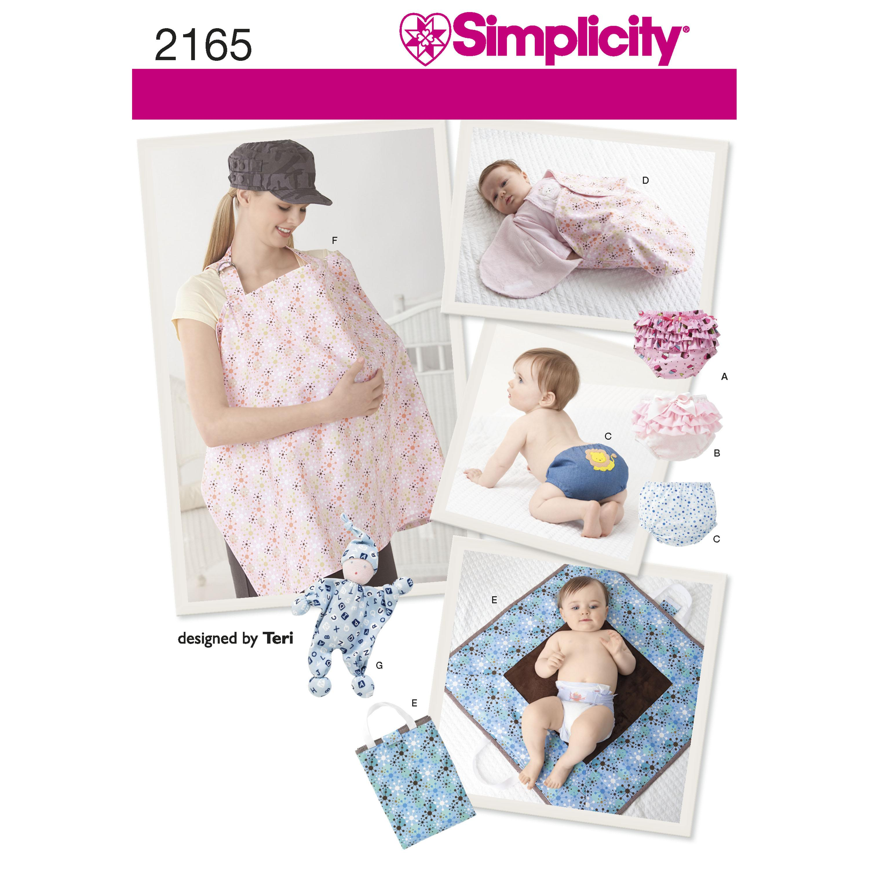 Simplicity S2165 Baby Accessories