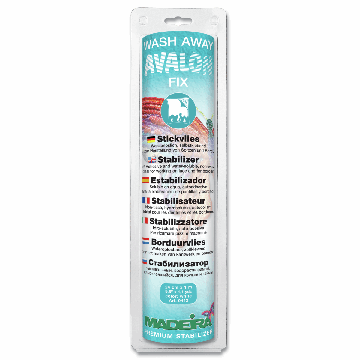 Madeira Avalon Fix Wash-Away