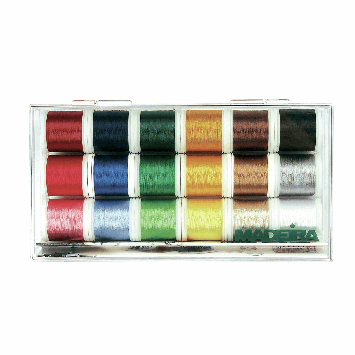 Medeira 18 Machine Embroidery Threads Various Colours