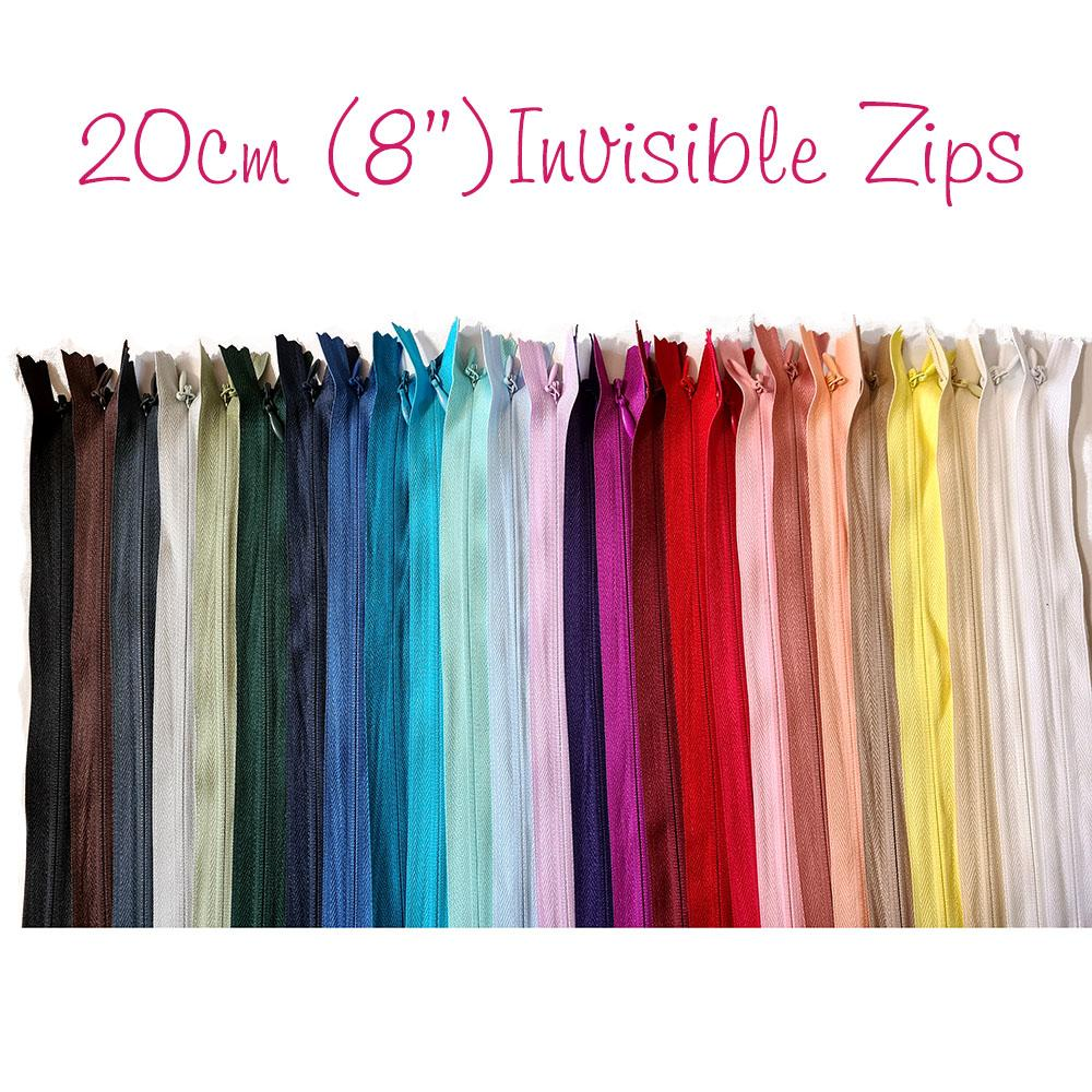 "Invisible Zip 20cm (8"")"