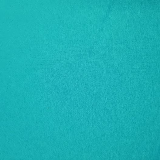 Plain Two Way Cotton Stretch Turquoise