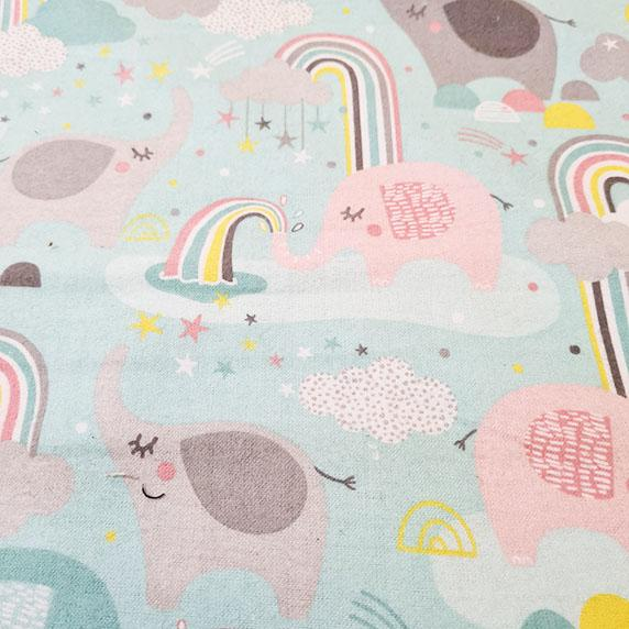 Small & Mighty Elephants & Rainbows Wyncette