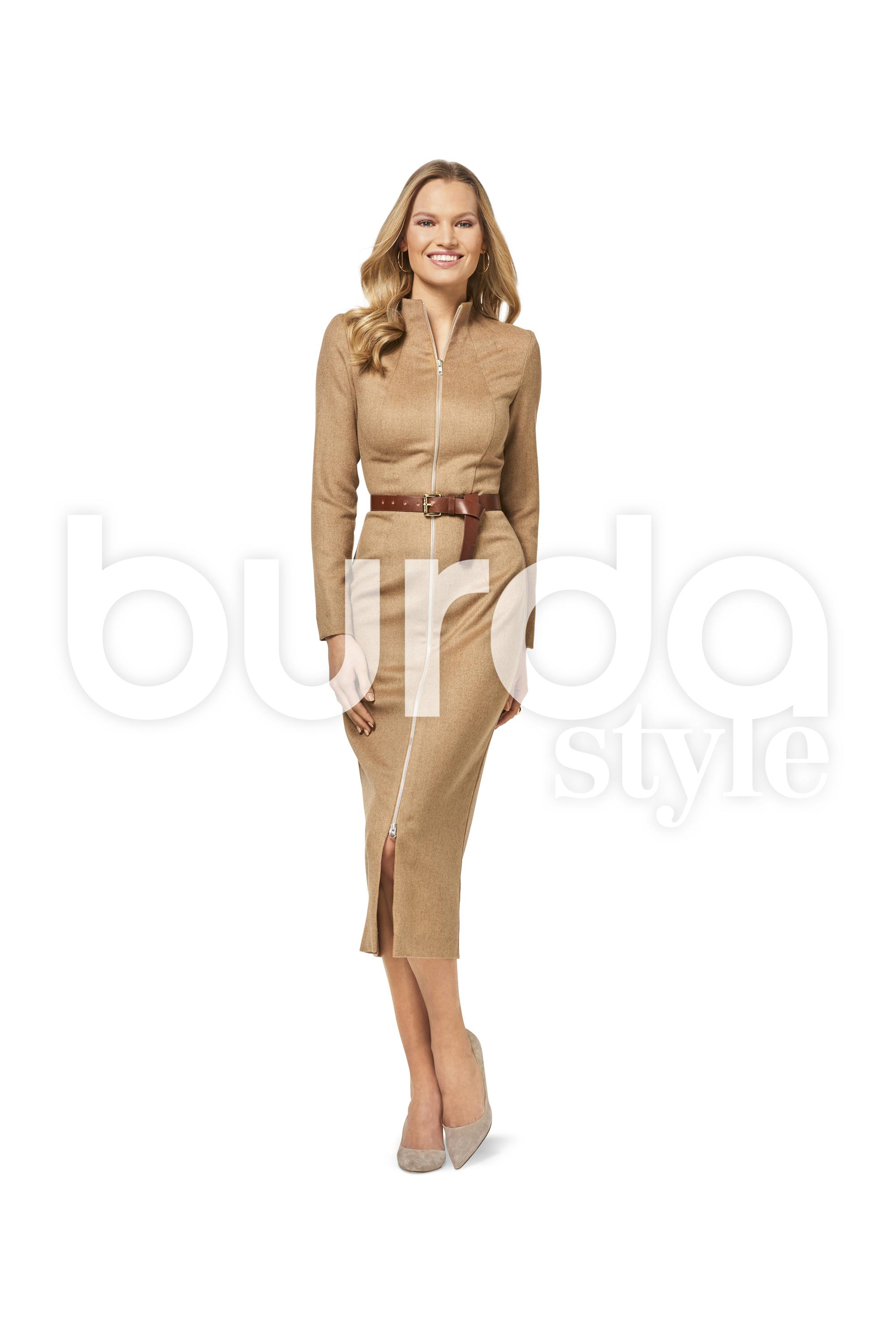 Burda B6452 Women's Dresses