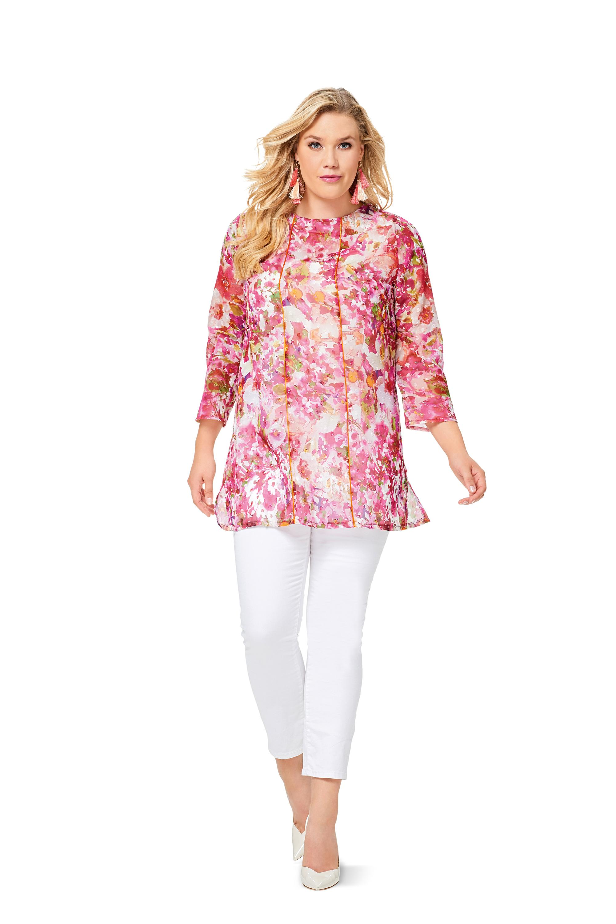 Burda B6552 Women's Blouse