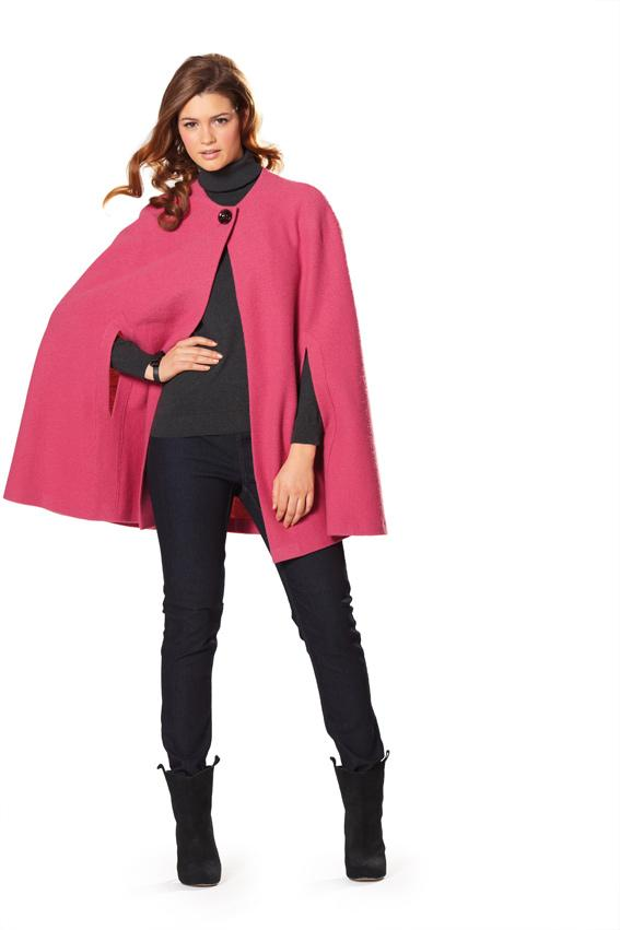 Burda B7313 Cape Sewing Pattern