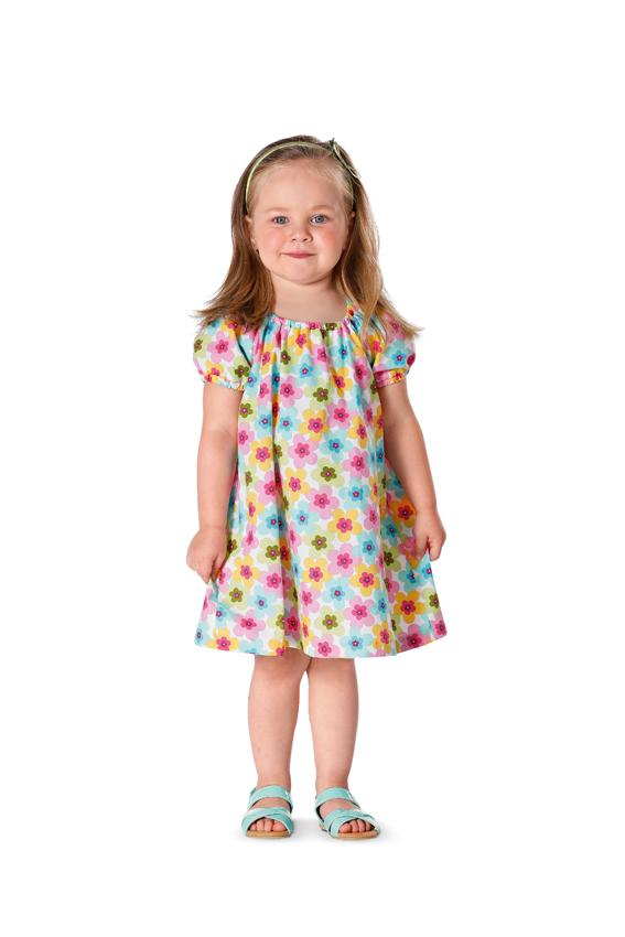 Burda B9438 Burda Toddlers Sewing Pattern
