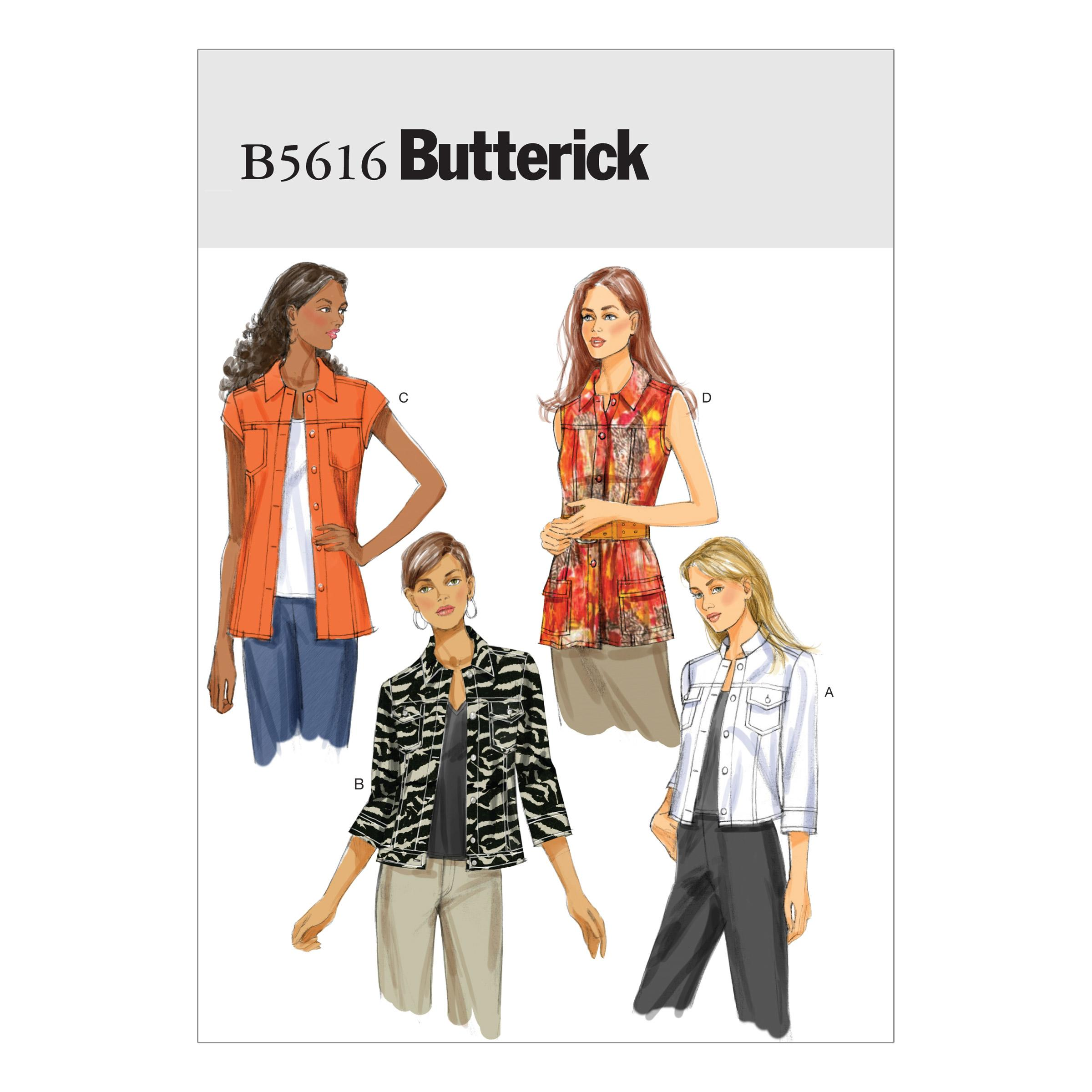 Butterick B5616 Misses' Jacket