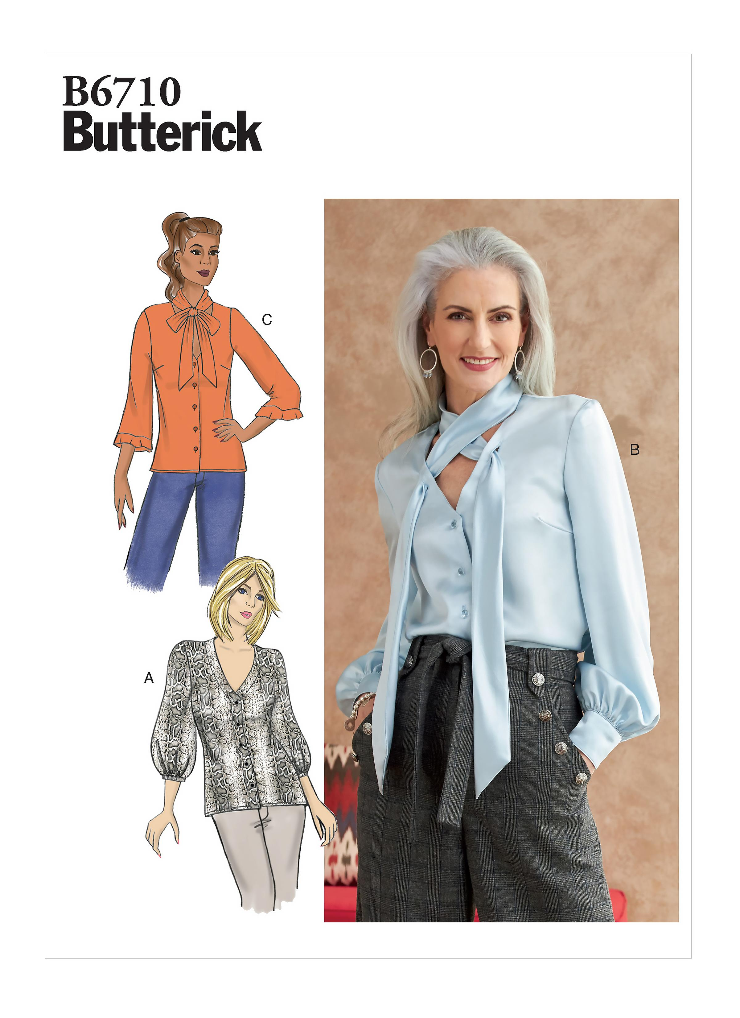 Butterick B6710 Misses' Top