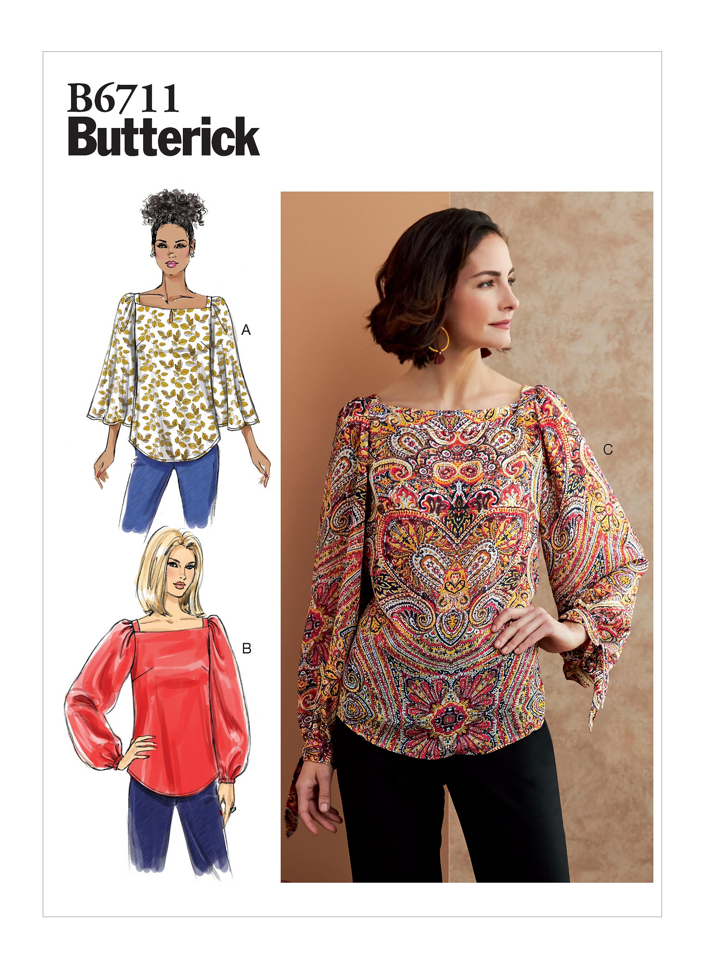 Butterick B6711 Misses' Top