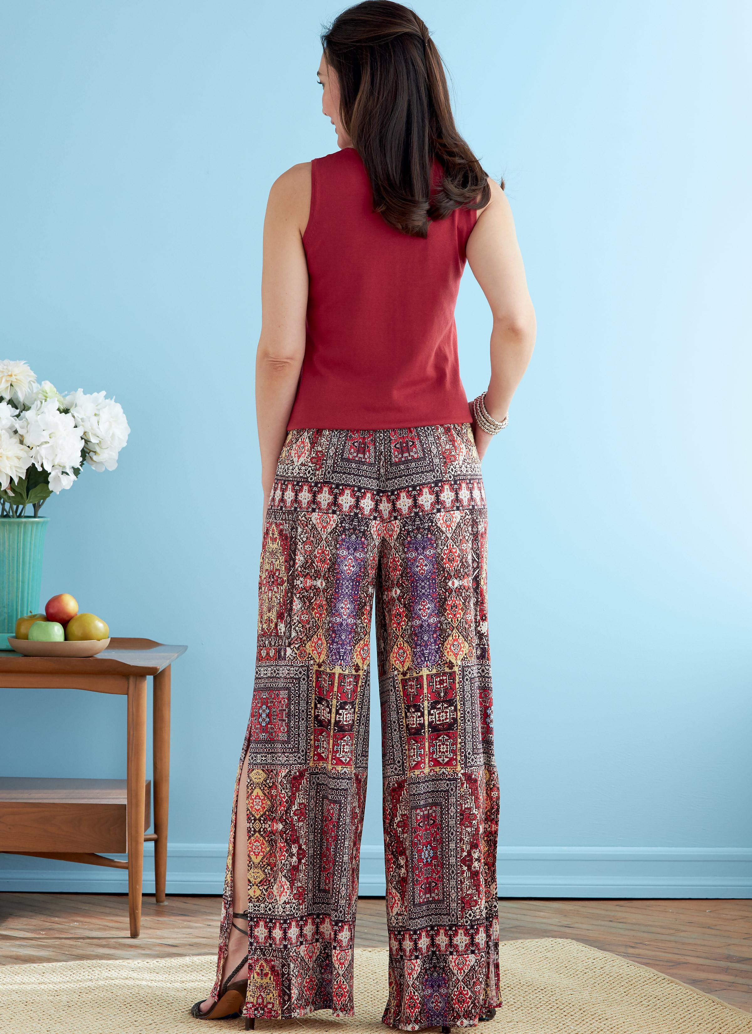 Butterick B6750 Misses' Elastic-Waist Shorts and Pants