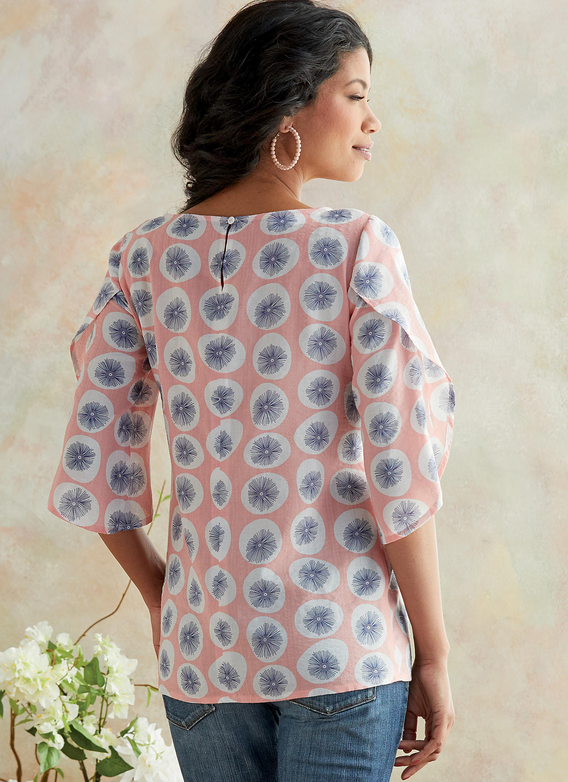 Butterick B6687 Misses' Top