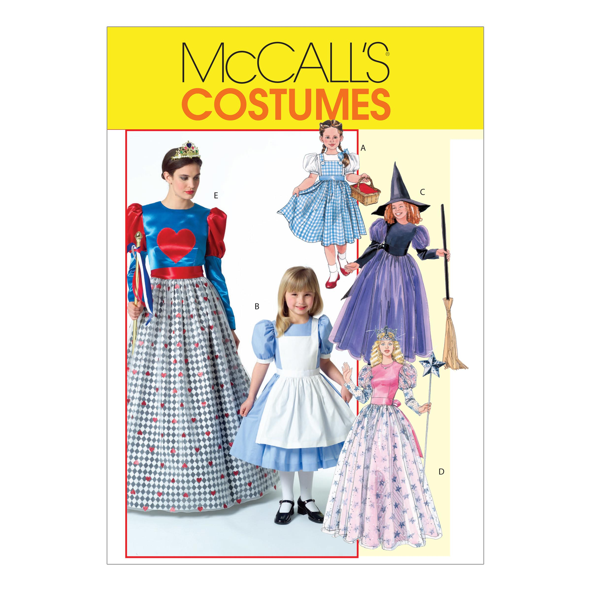 McCalls M4948 Costumes, Halloween