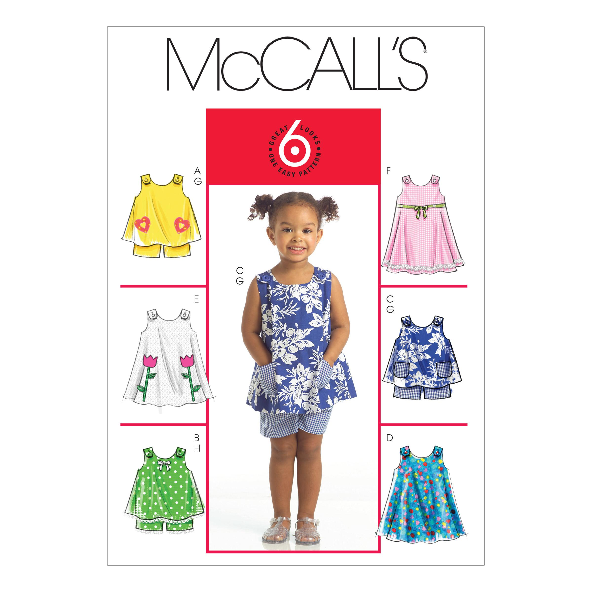 McCalls M5416 Infants/Toddlers