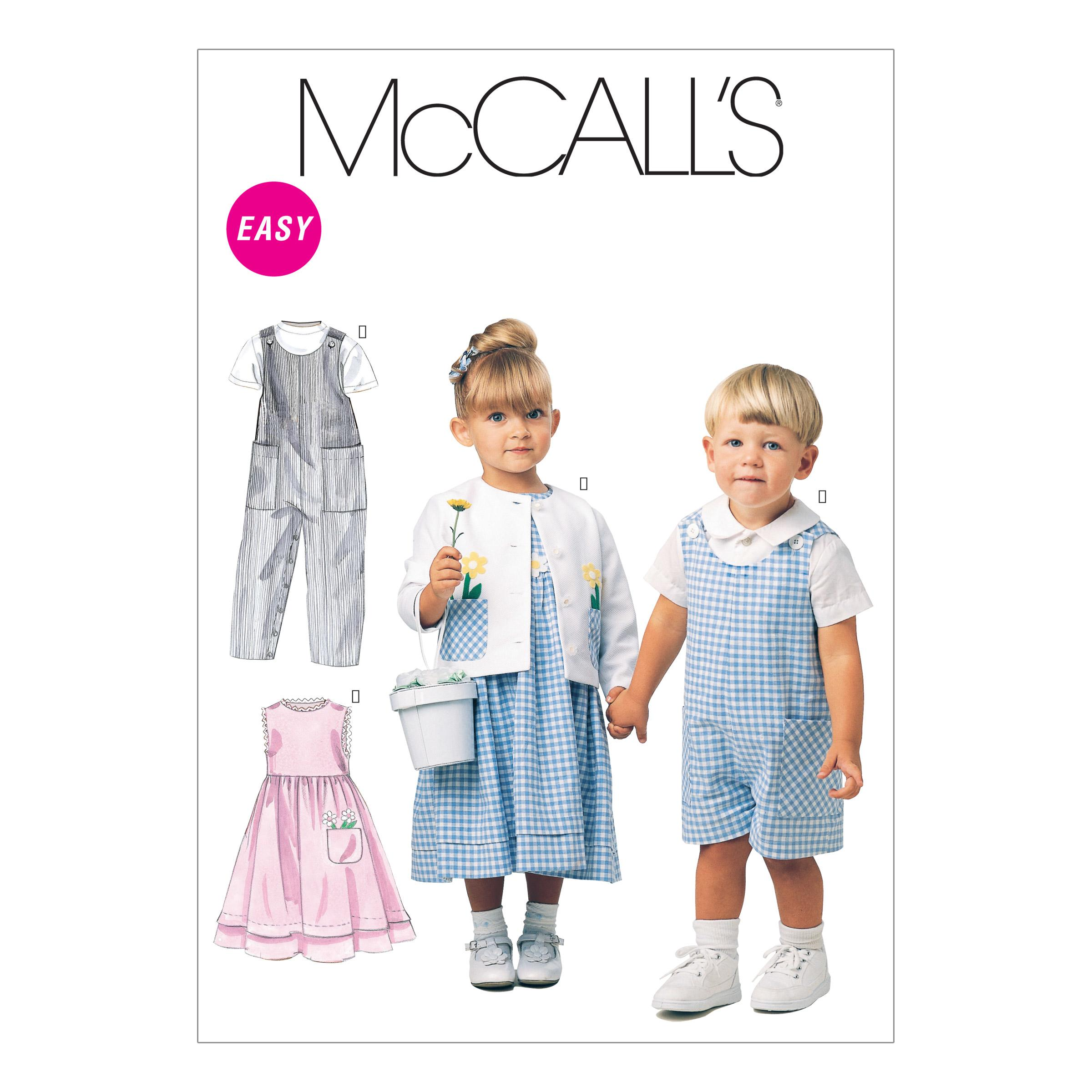 McCalls M6304 Infants/Toddlers