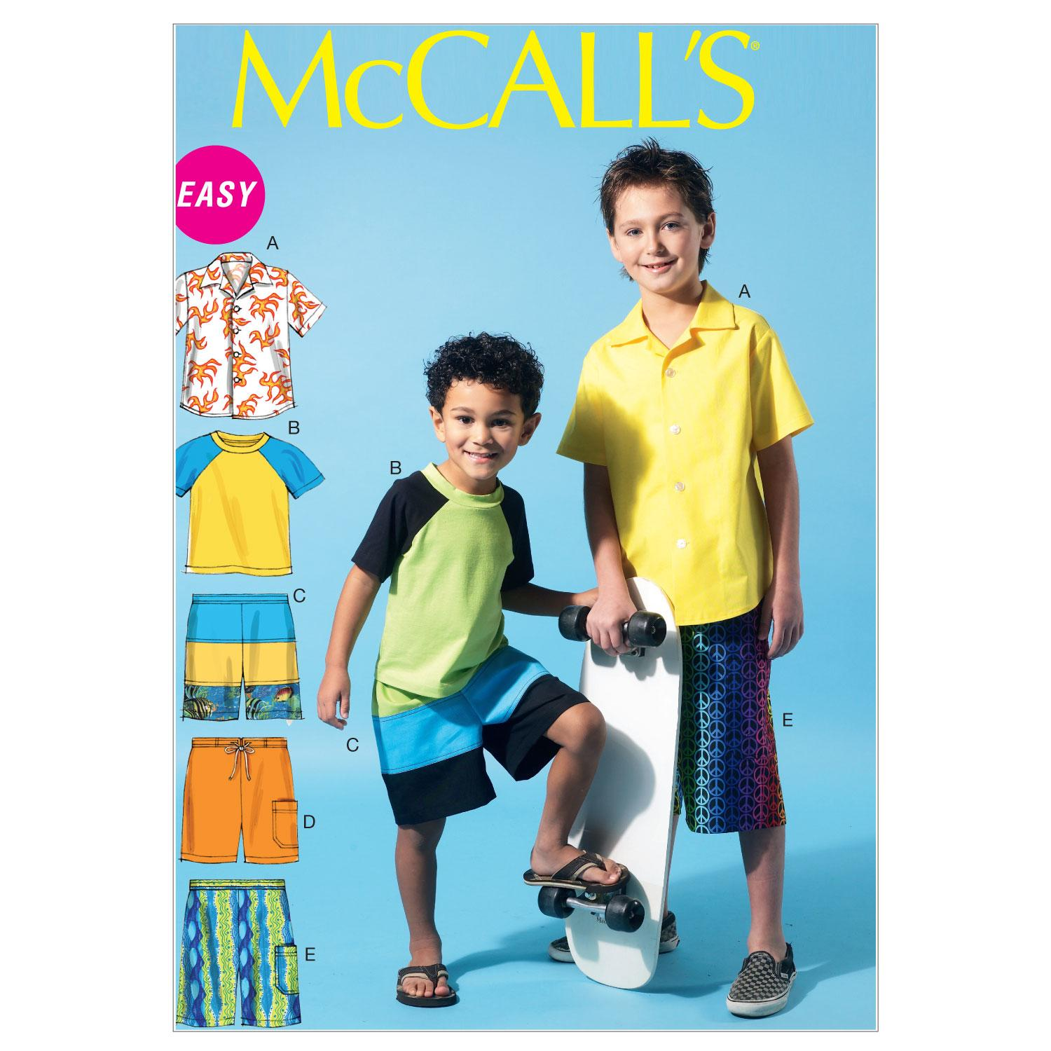 McCalls M6548 Children, Girls/Boys