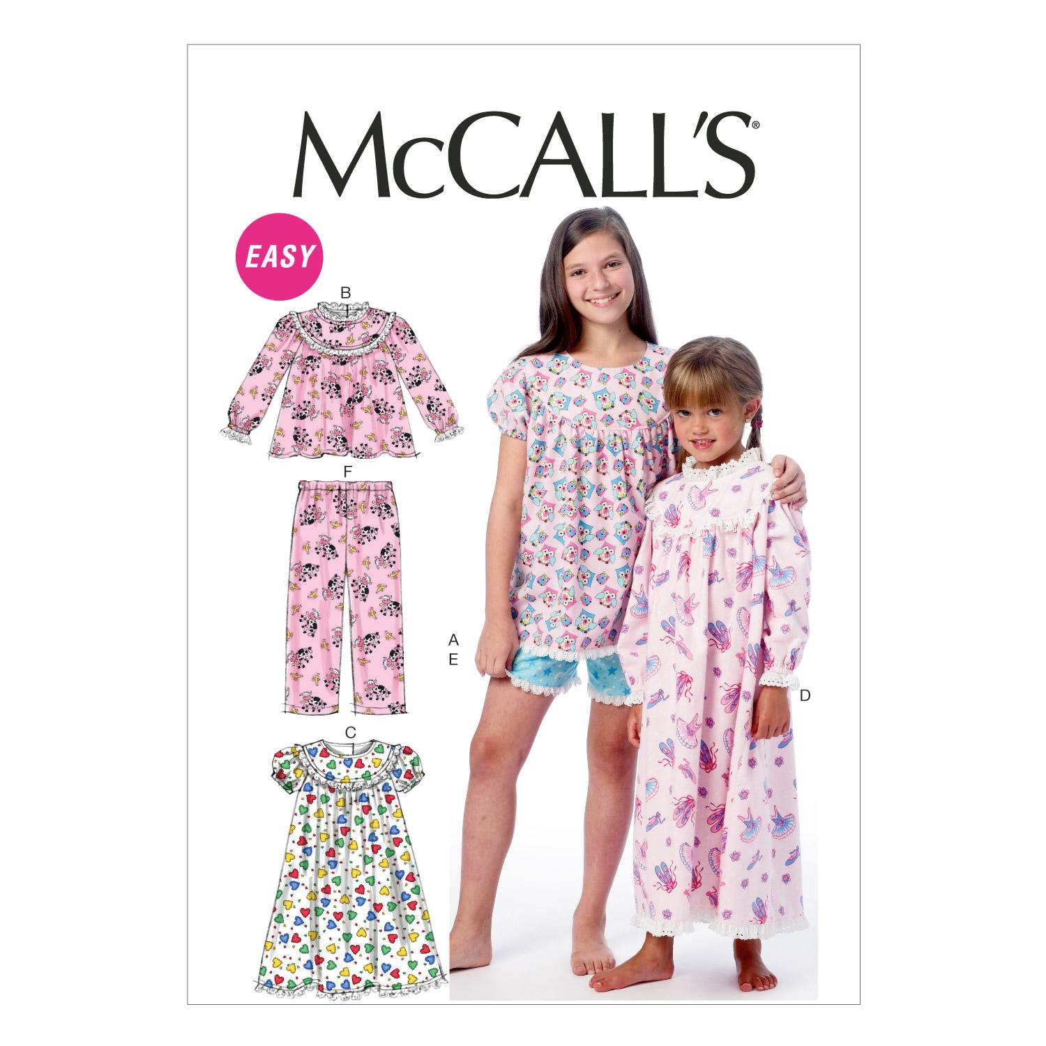McCalls M6831 Children, Girls/Boys