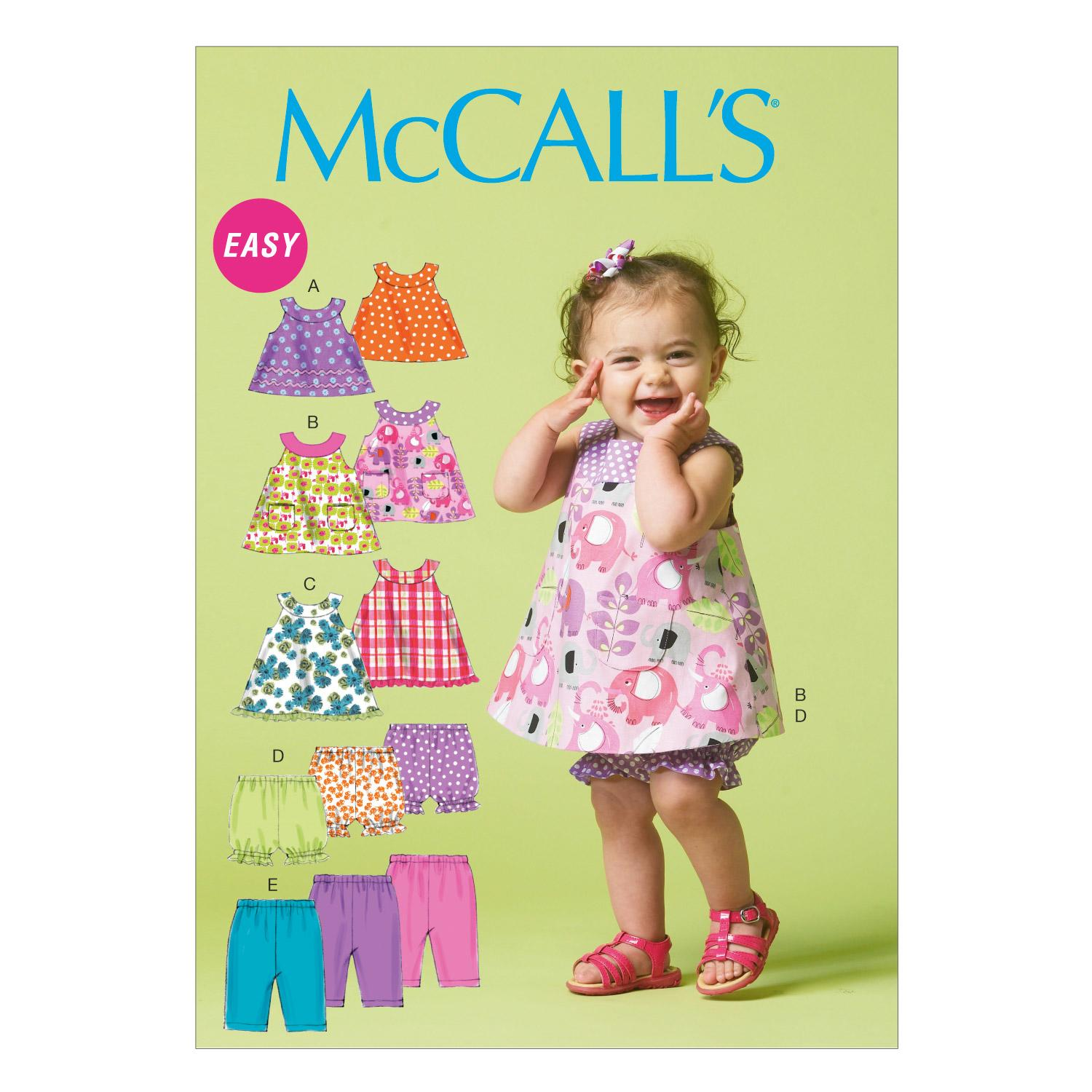 McCalls M6912 Infants/Toddlers