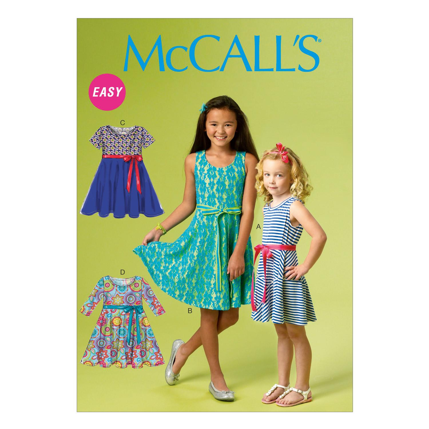 McCalls M6915 Children, Girls/Boys