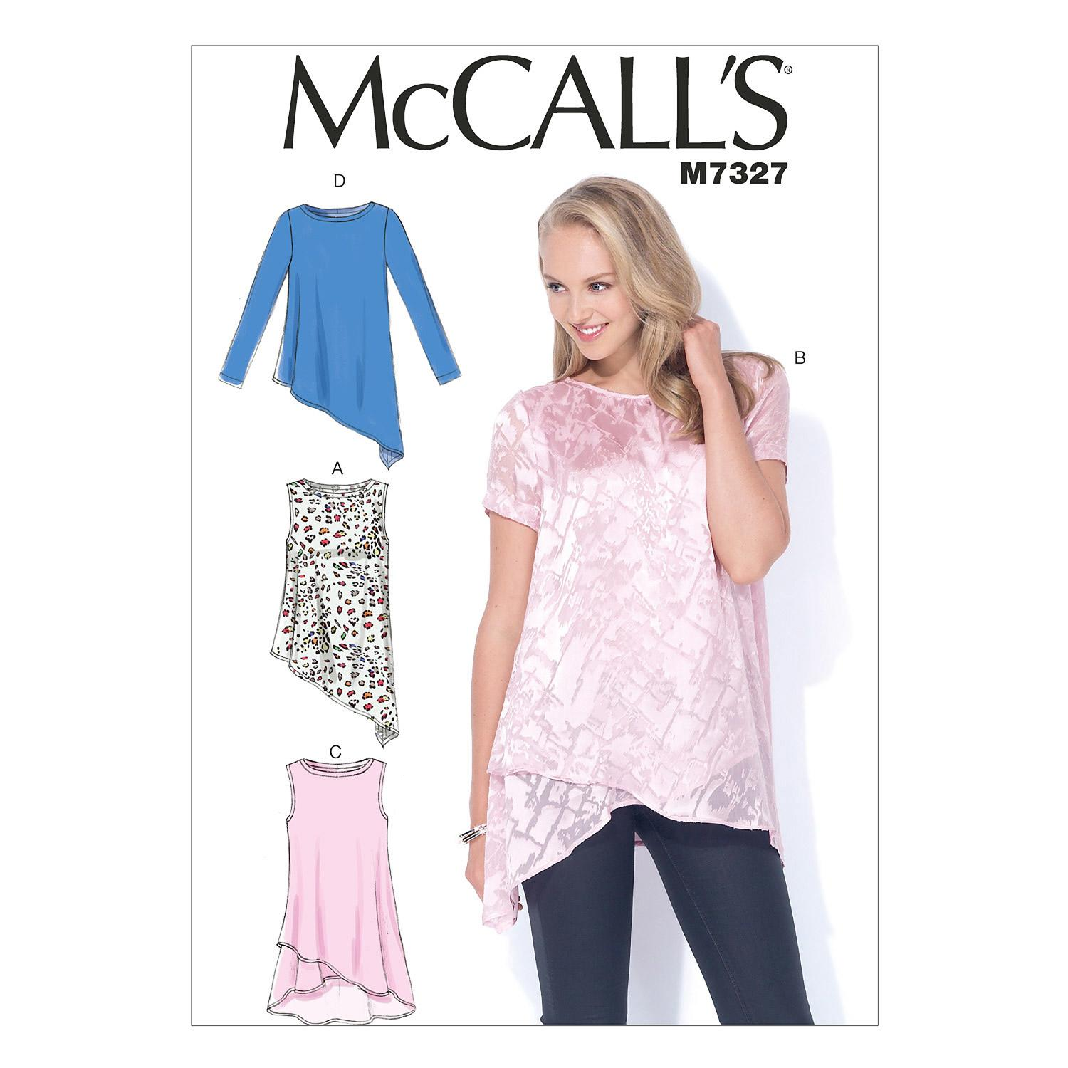 McCalls M7327 Tops/Tunics