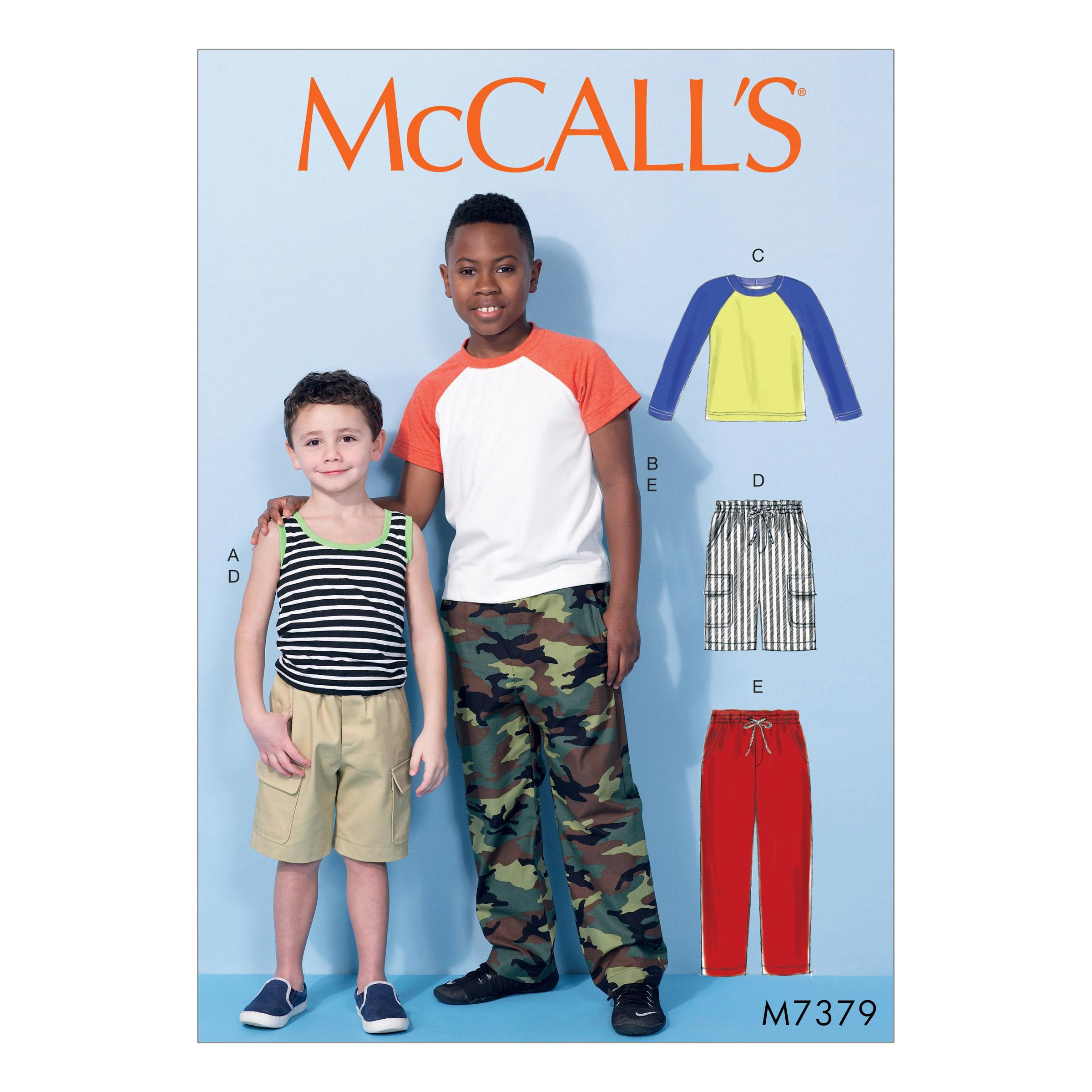 McCalls M7379 Kids Girls & Boys, Kids Children