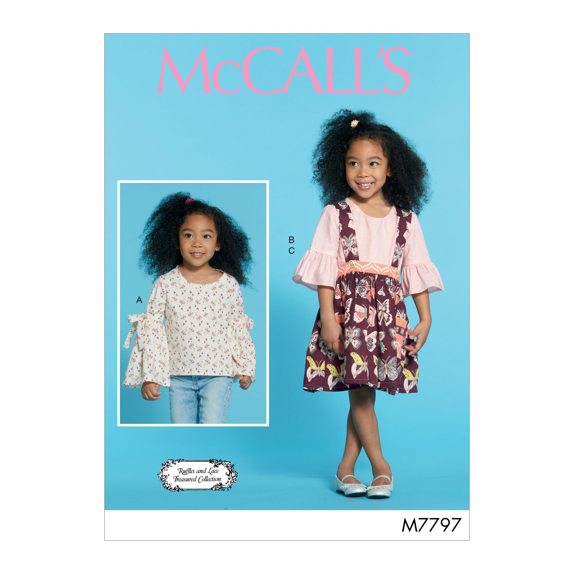 McCalls M7797 Kids Children, Kids Girls & Boys