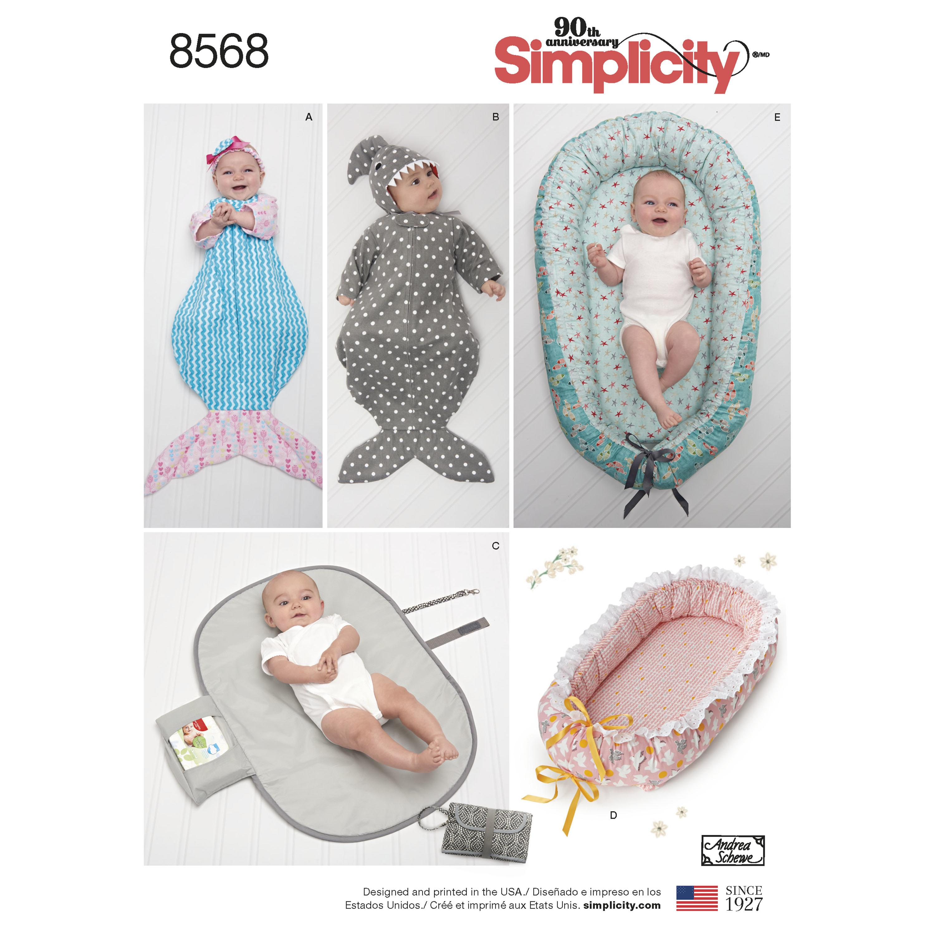 Simplicity S8568 Baby Accessories