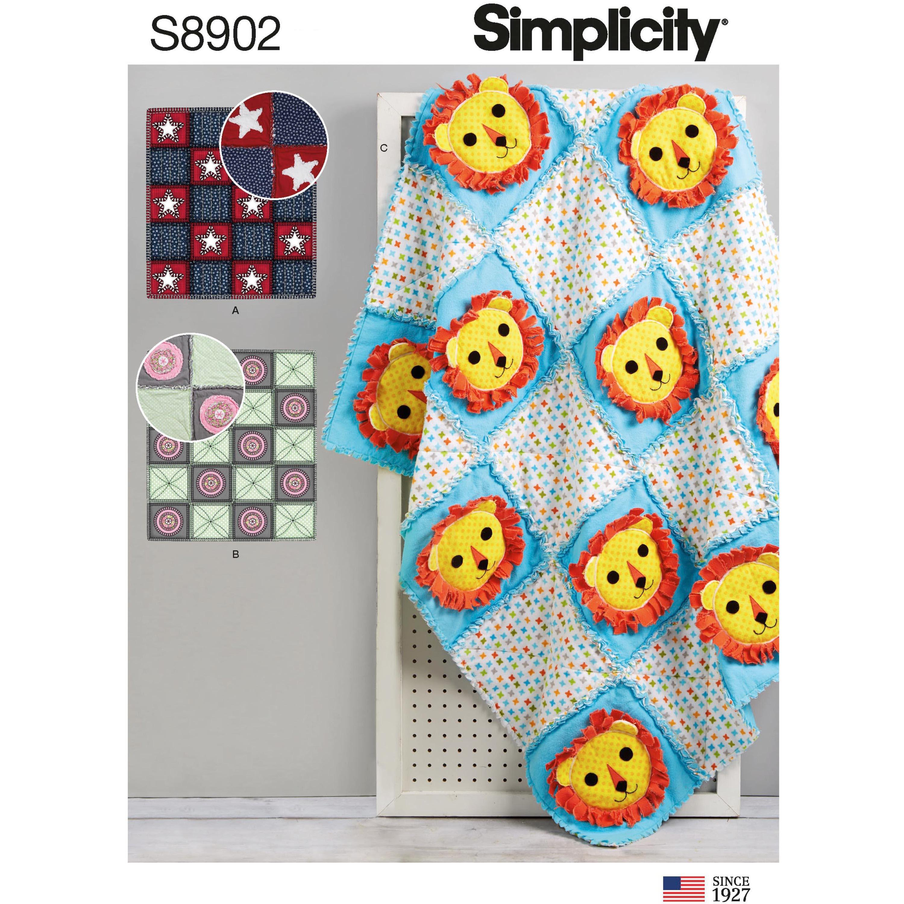 Simplicity S8902 Rag Quilts