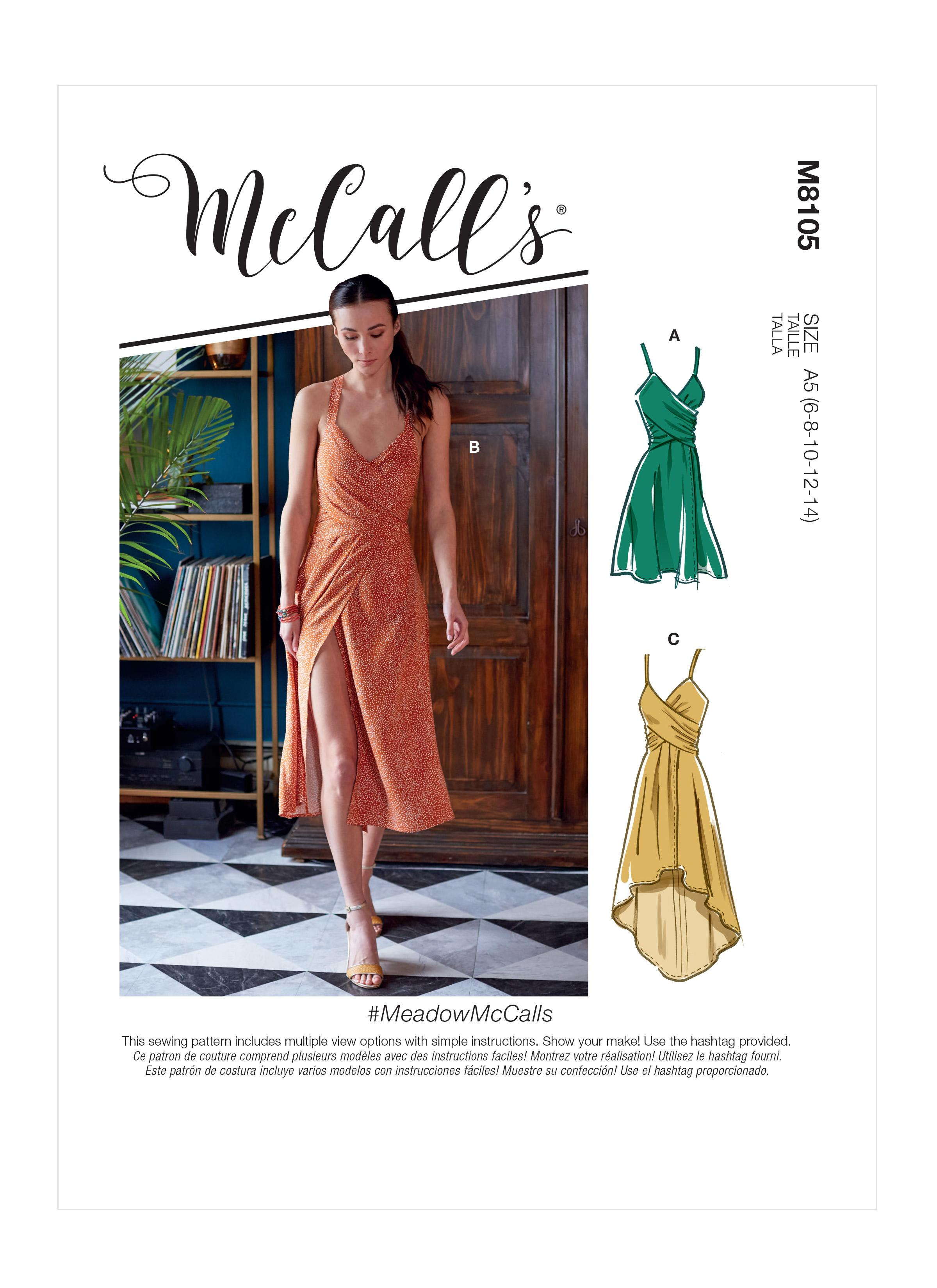 McCalls M8105 #MeadowMcCalls - Misses' Dresses