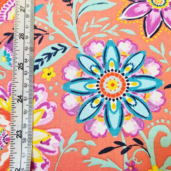 Summer Song Mango Floral Cotton