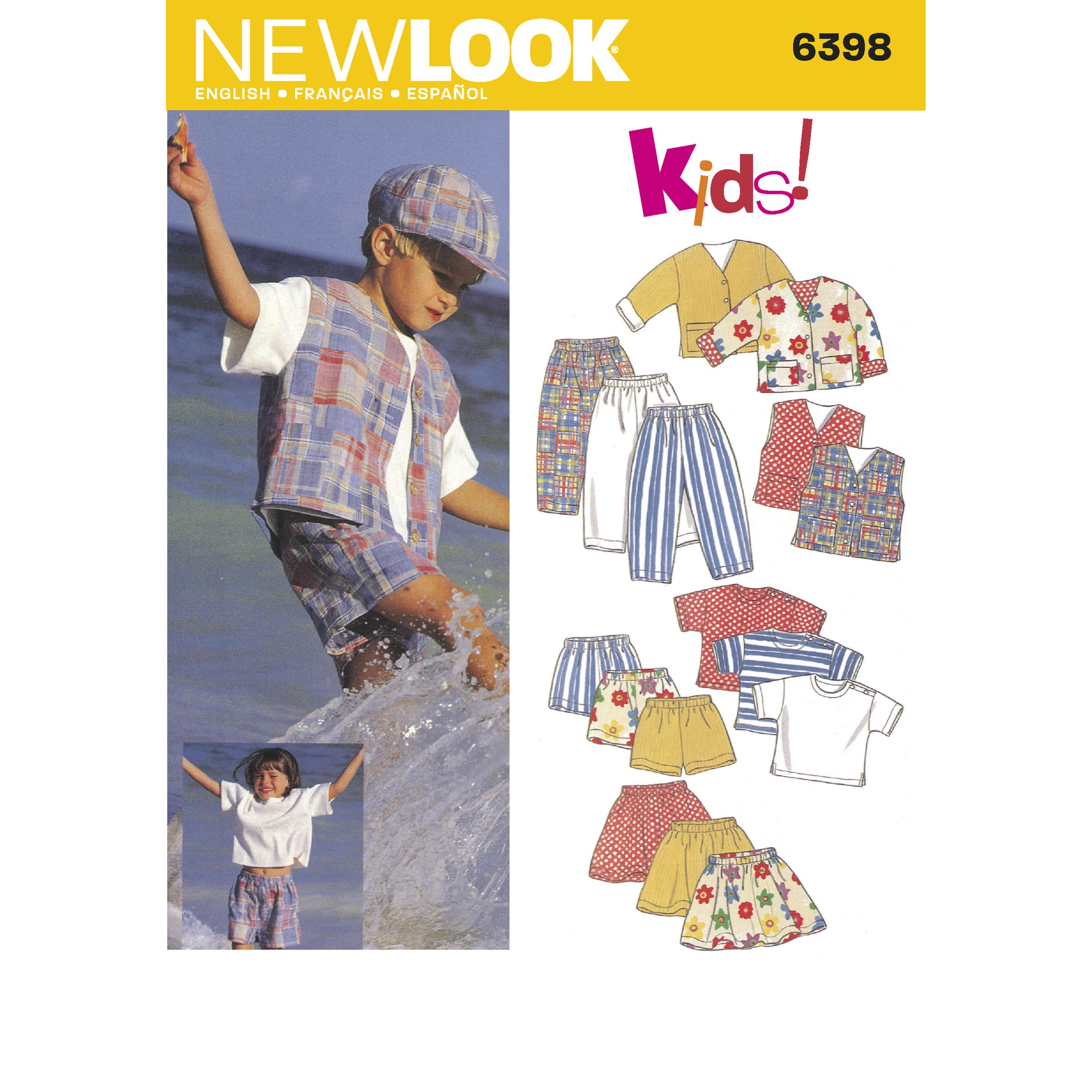 NewLook N6398 Child Separates