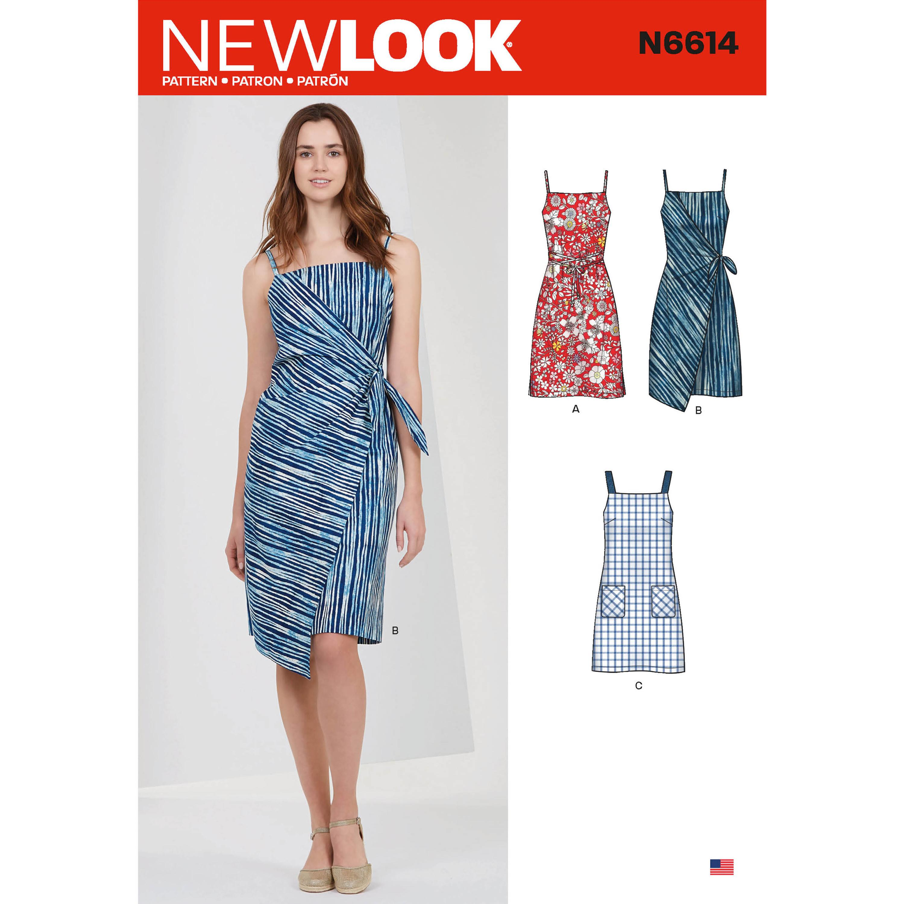 NewLook Sewing Pattern N6614 Misses' Dresses