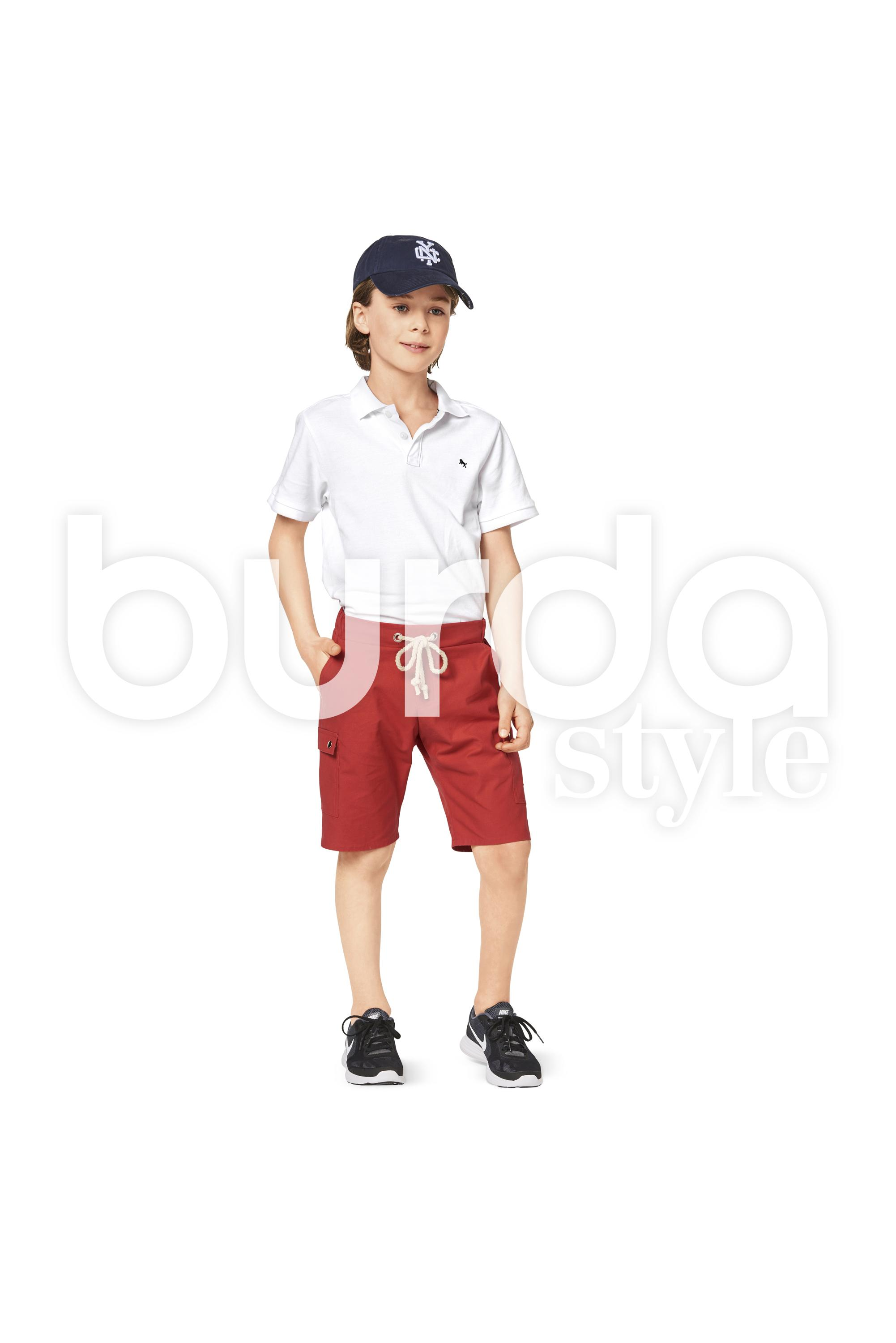 Burda B9354 Girl/Girl Plus Pant and Short