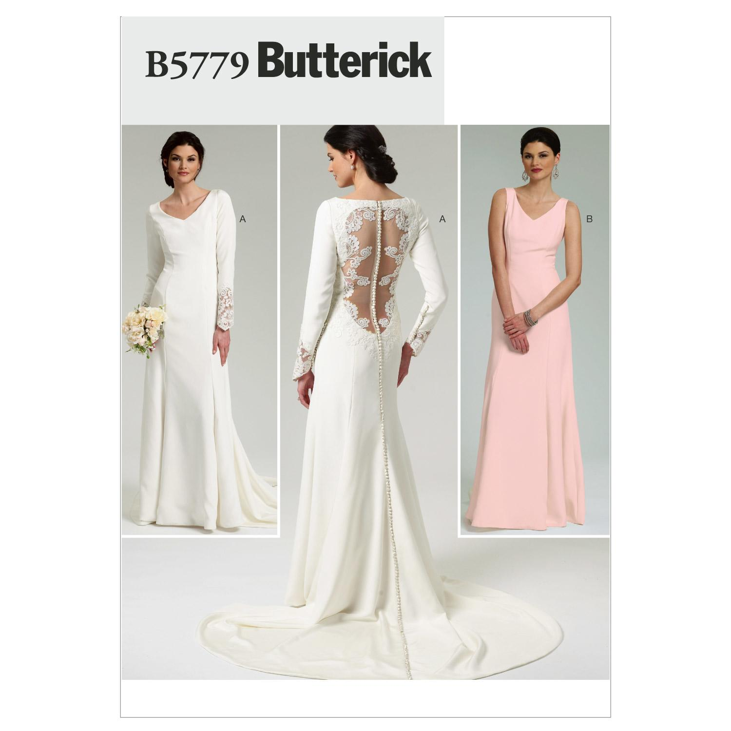 Butterick B5779 Misses' Dress