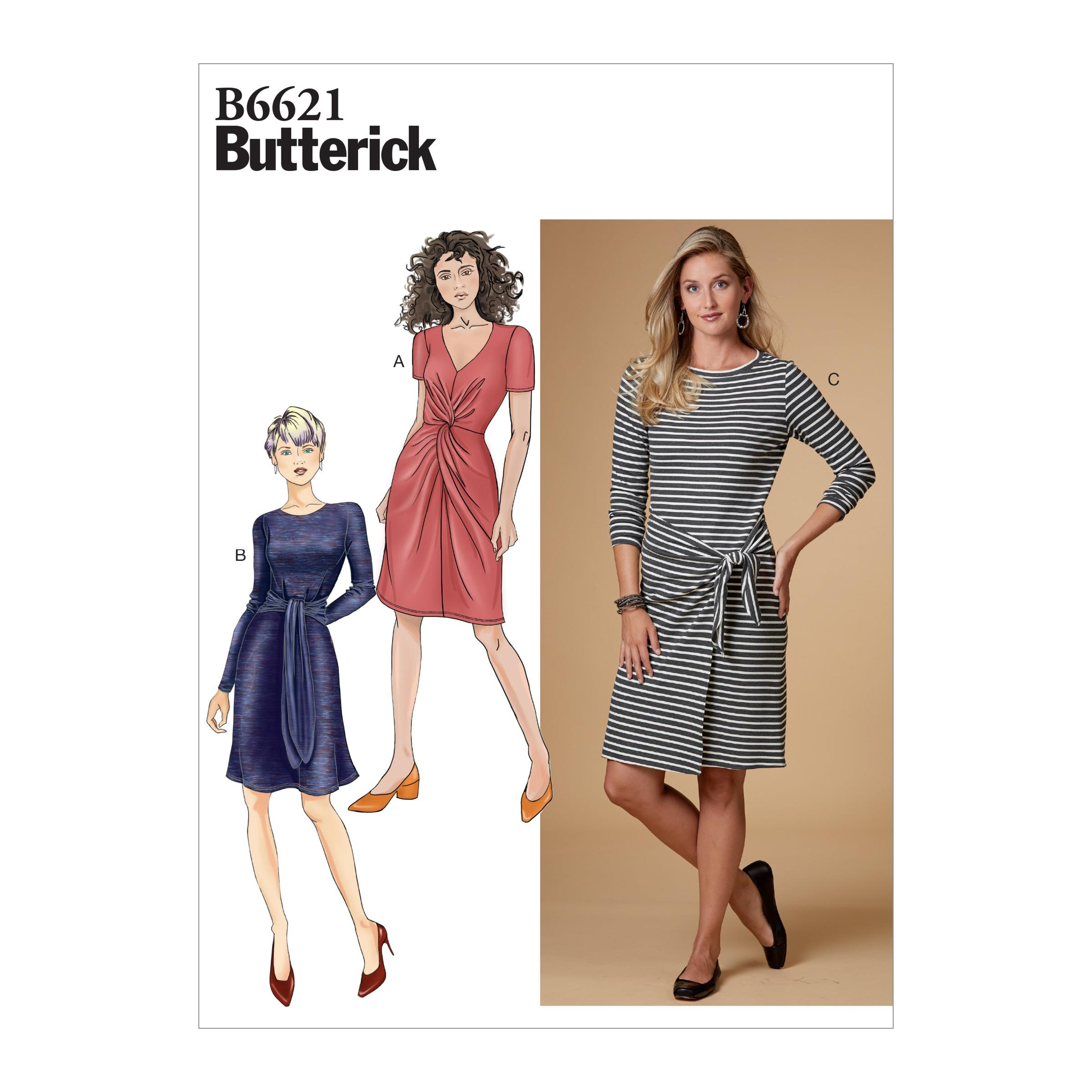 Butterick B6621 Misses' Dress