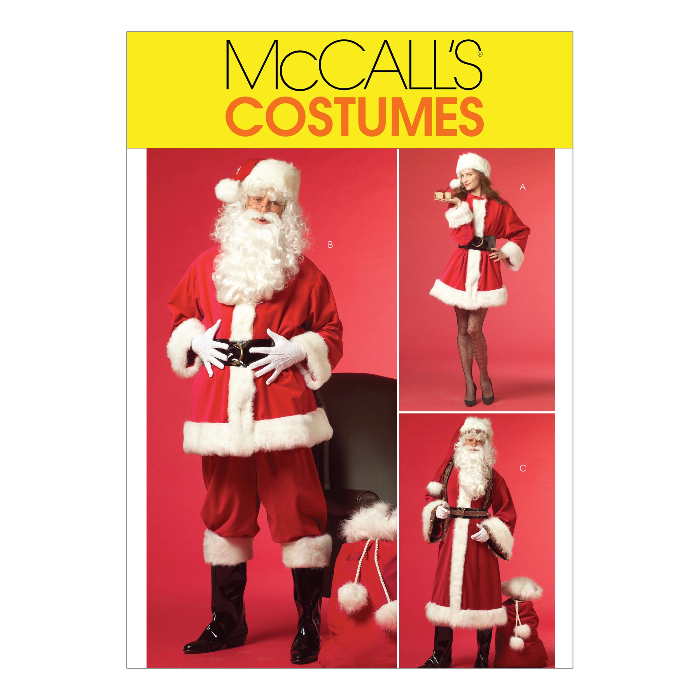 McCalls M5550 Costumes, Halloween, Seasonal/Holiday