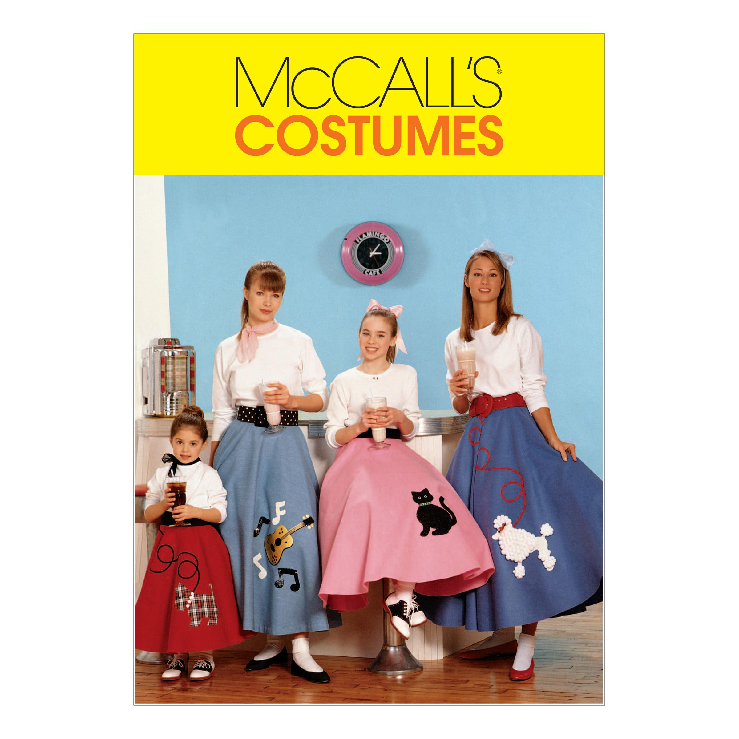 McCalls M6101 Costumes, Halloween