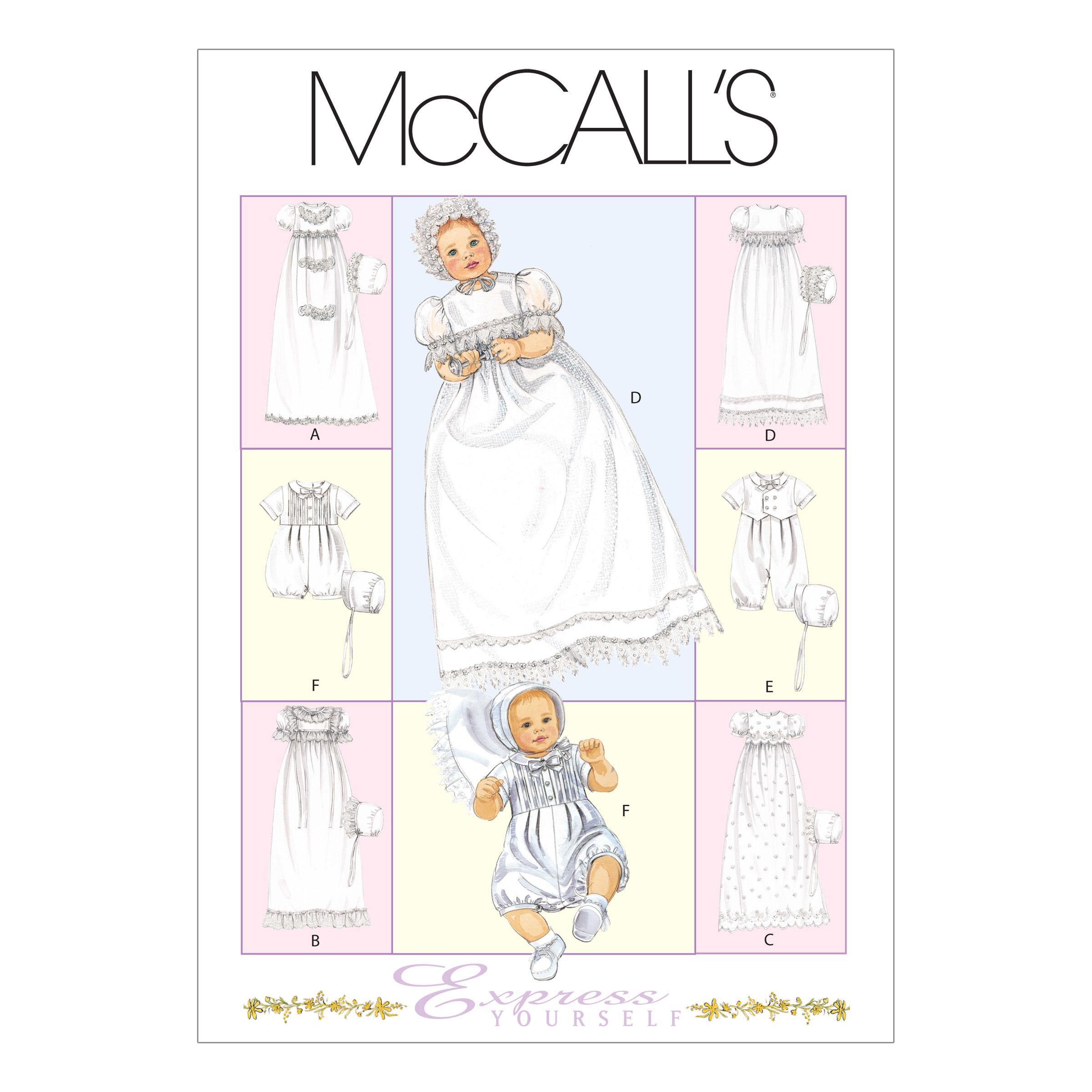 McCalls M6221 Infants/Toddlers