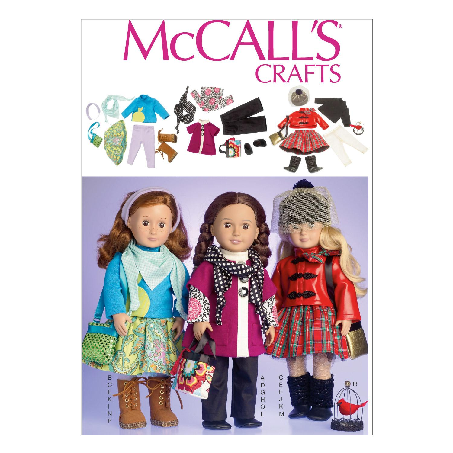 McCalls M7006 Crafts/Dolls/Pets